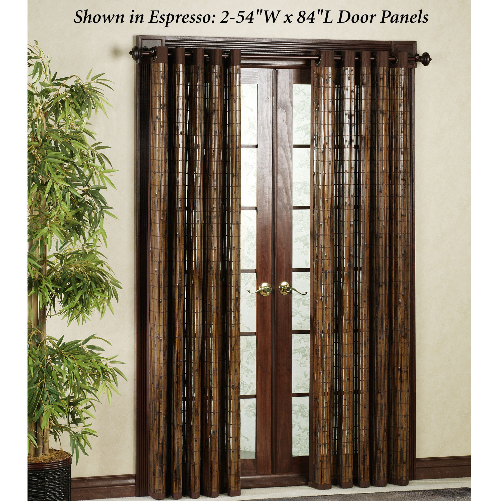 Bamboo Grommet Curtains The Best