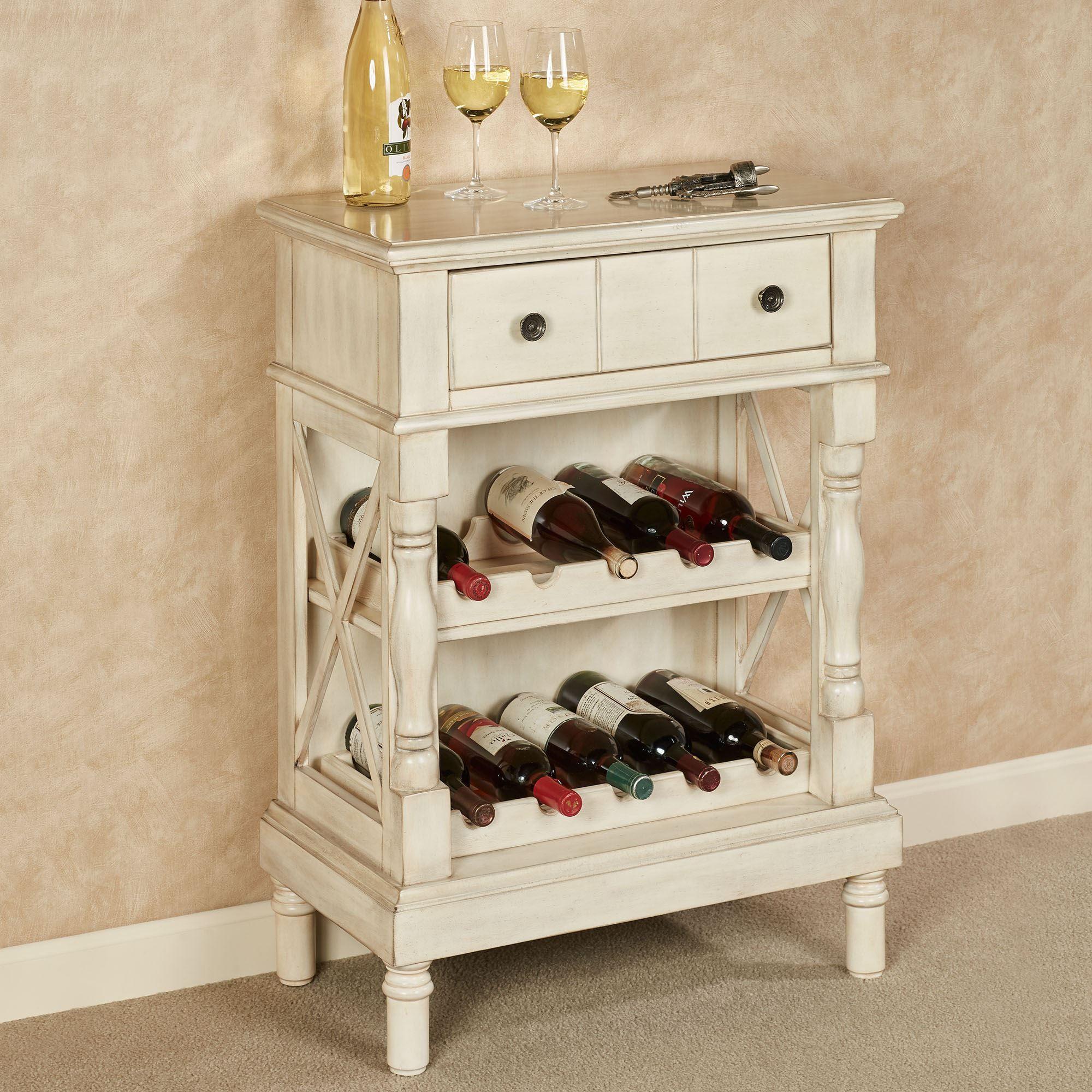 Amaryllis Wooden Wine Storage Cabinet