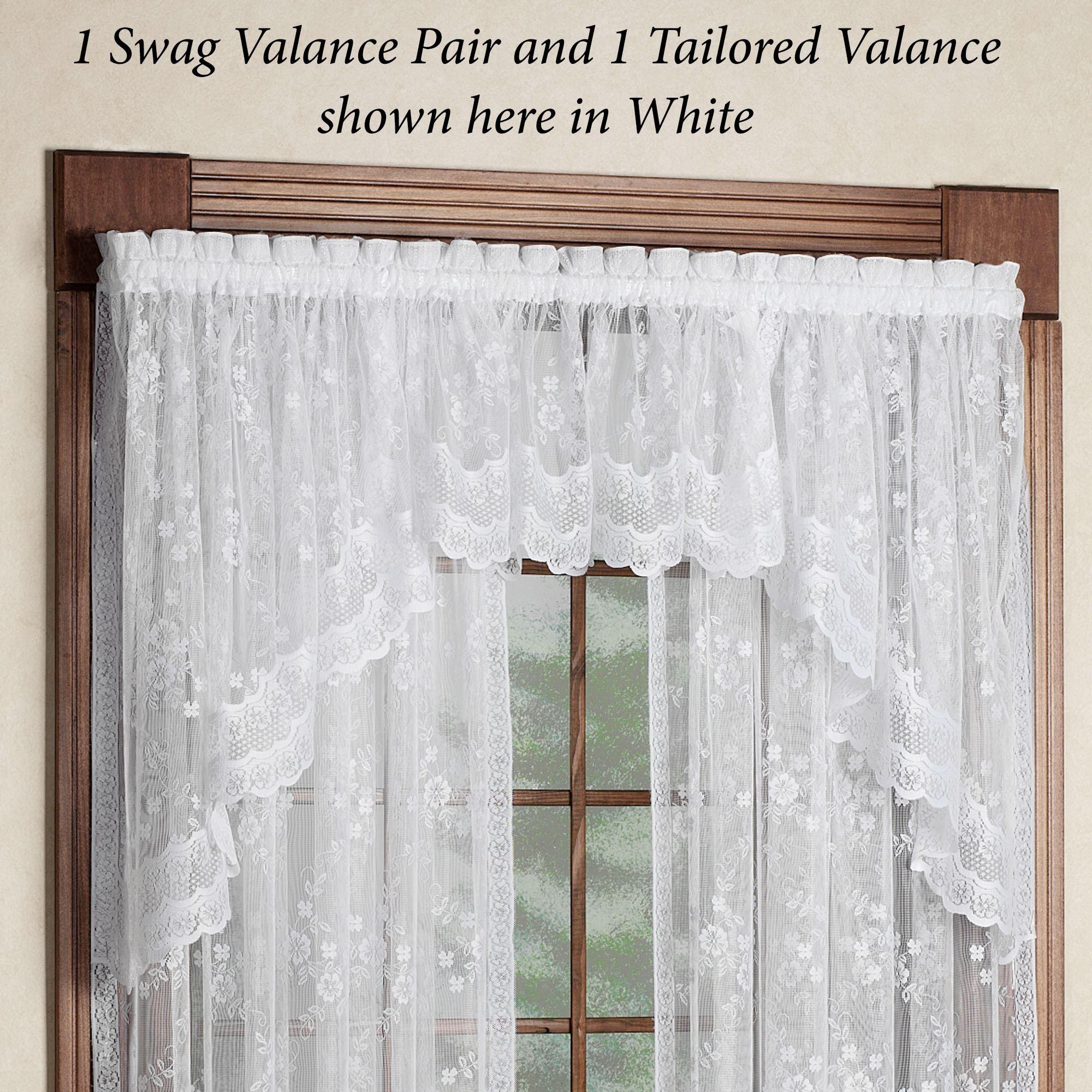 Juliette Lace Window Treatment