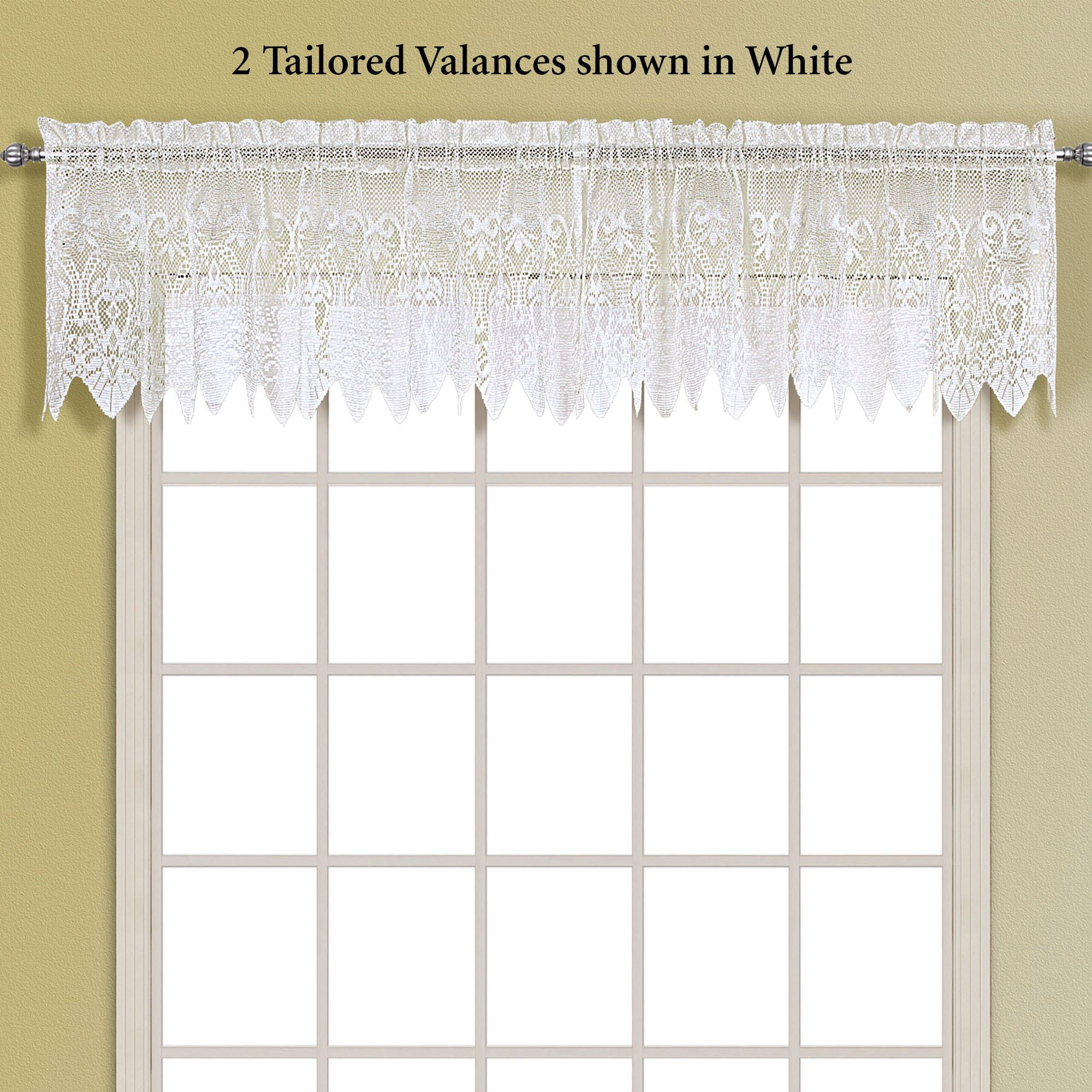 set curtain curtains kitchen bloggerwithdayjobs valance simple passions model swag