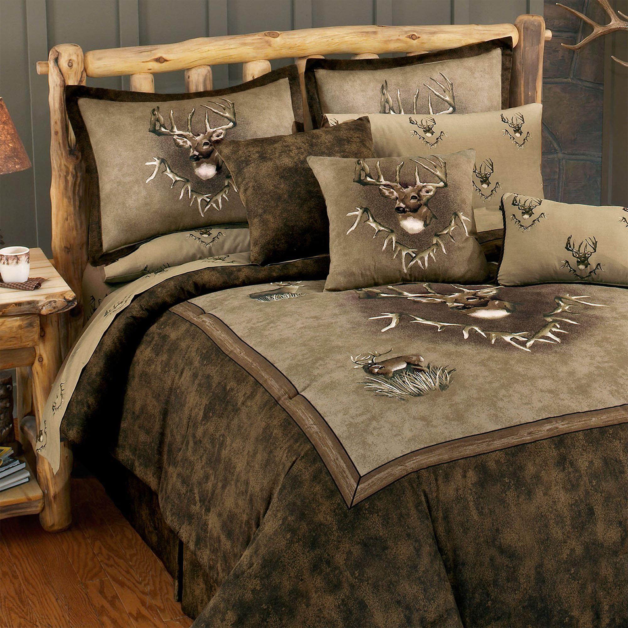 Whitetail Ridge Deer Comforter Bedding From Blue Ridge Trading