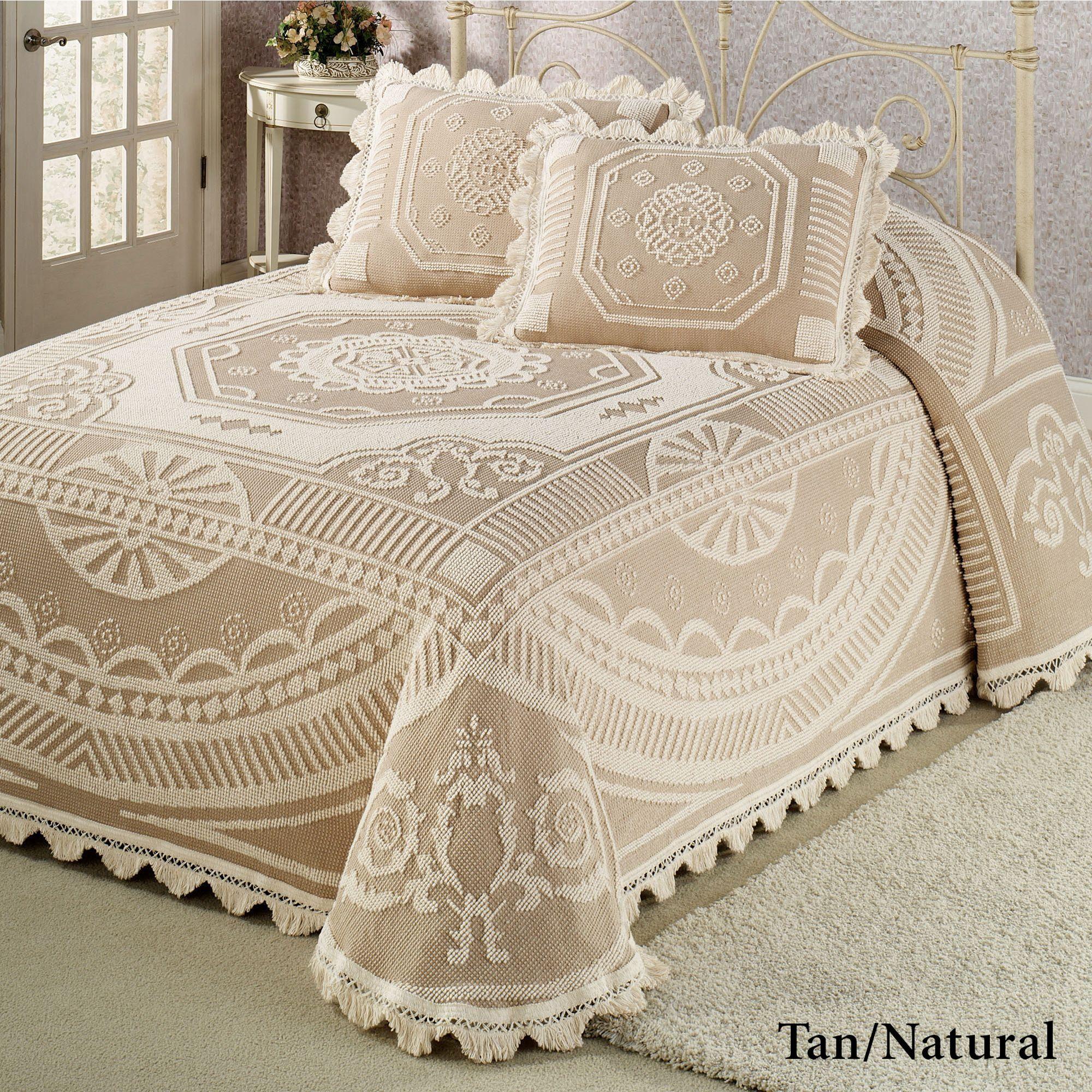 John Adams Candlewick Bedspread Bedding