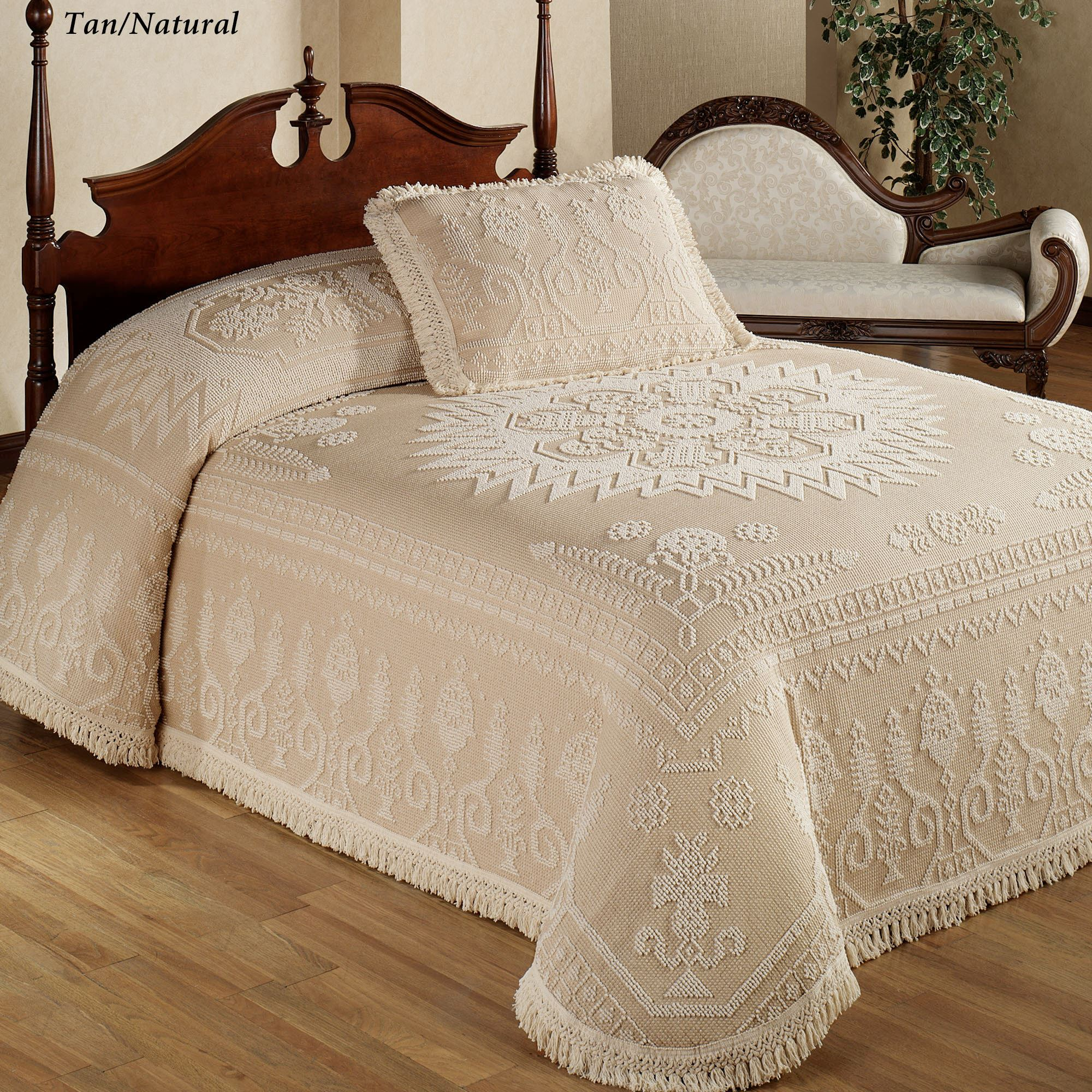 Spirit Of America Candlewick Bedspread Bedding