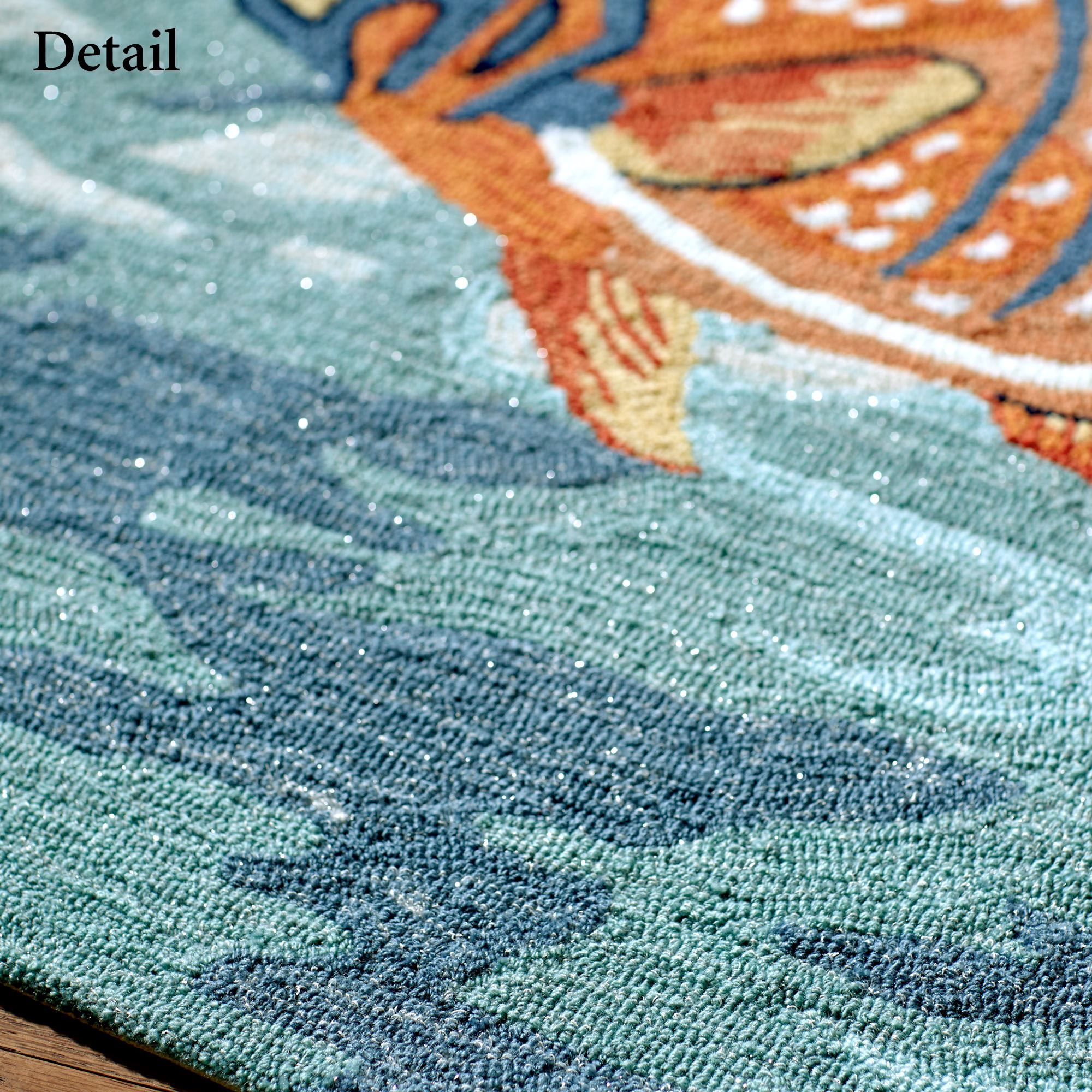 Moss Colored Bath Rugs