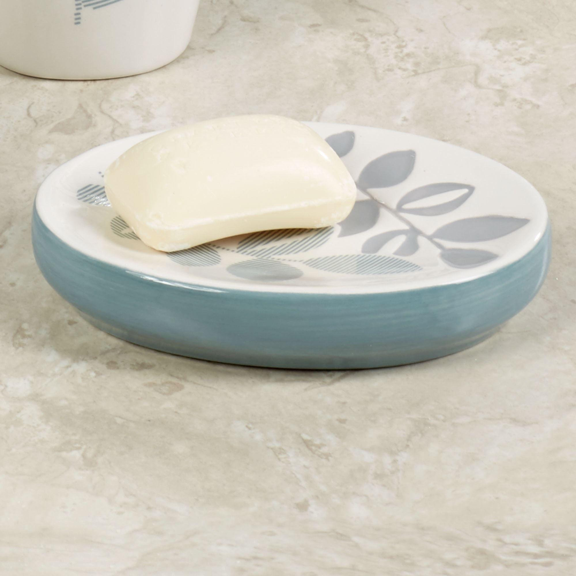 Delano Soap Dish Ivory