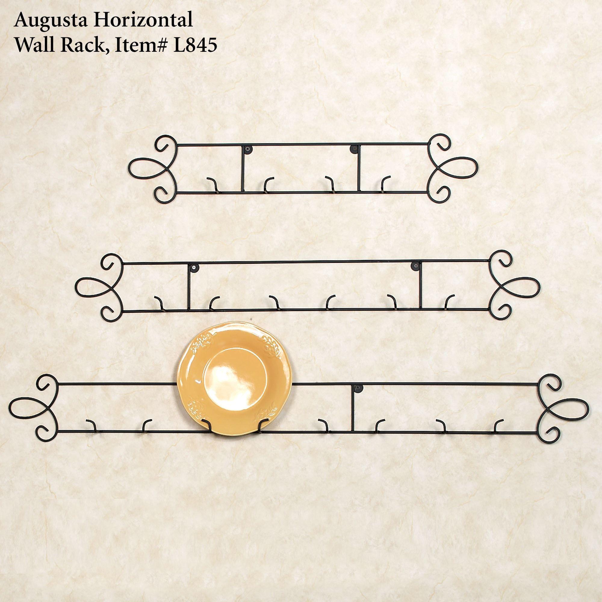 Augusta Vertical Petite Wall Plate Rack