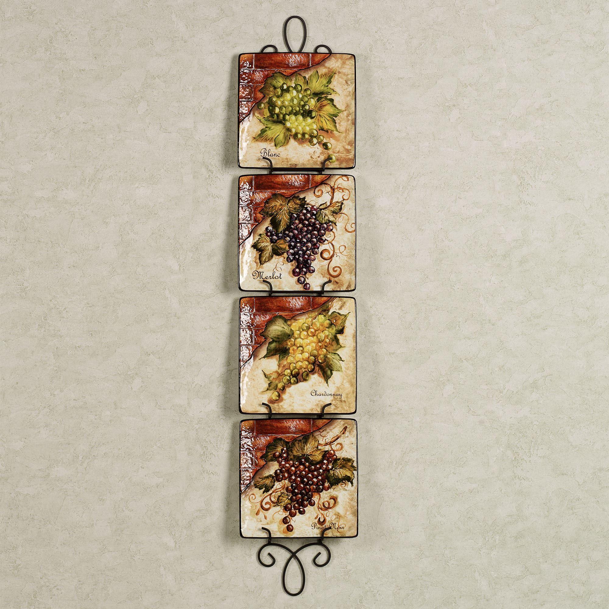 Augusta Vertical Wall Plate Racks  sc 1 st  Touch of Class & Augusta Vertical Petite Wall Plate Rack