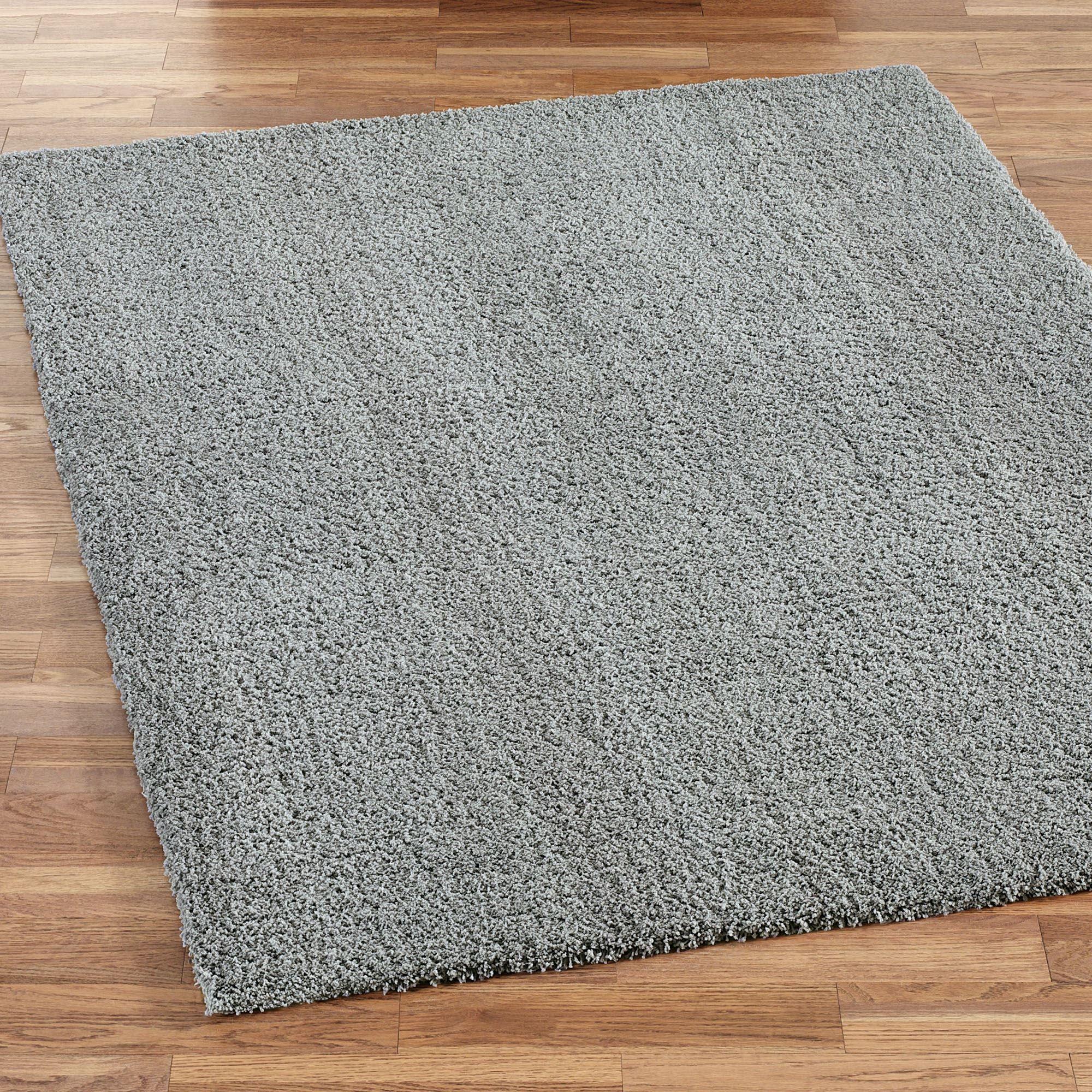 handmade dp com kitchen solid and rug dining soft rugs amazon silken plush shag area