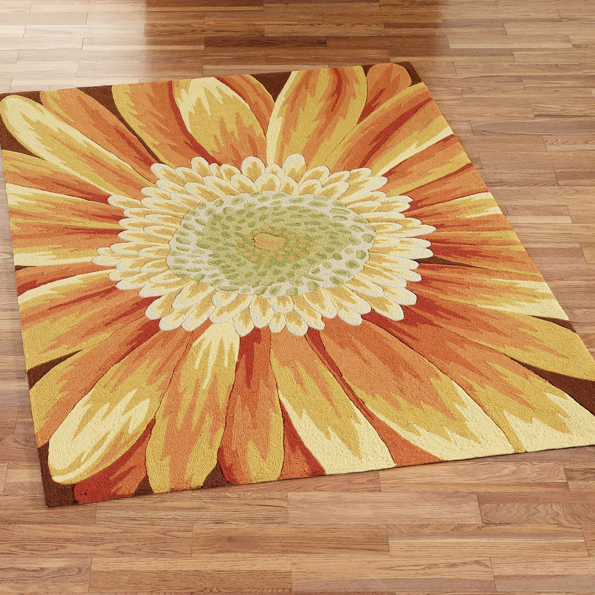 Sunflower Area Rugs