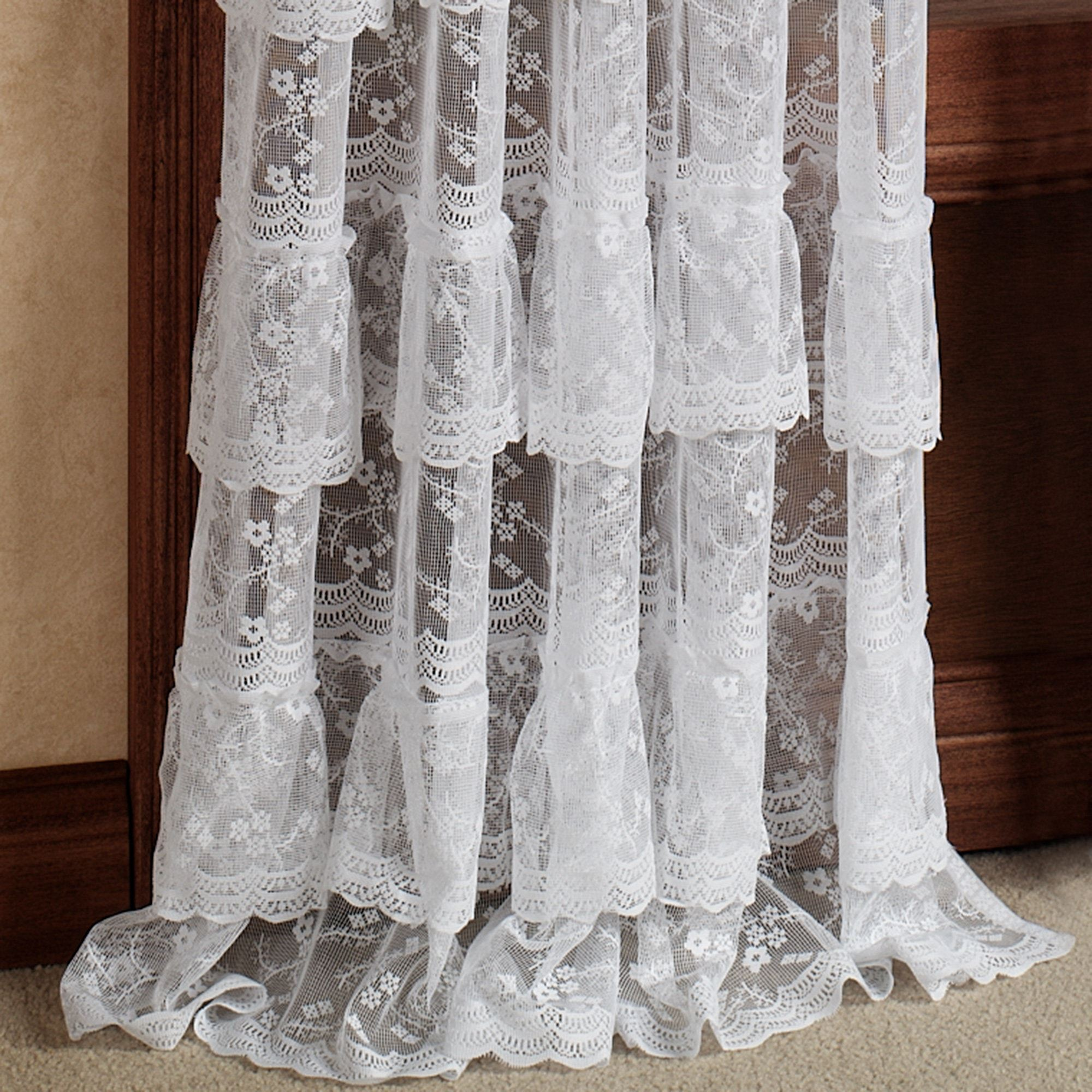 free product ruffle home linen look aurora curtain pair today shipping garden overstock curtains panel