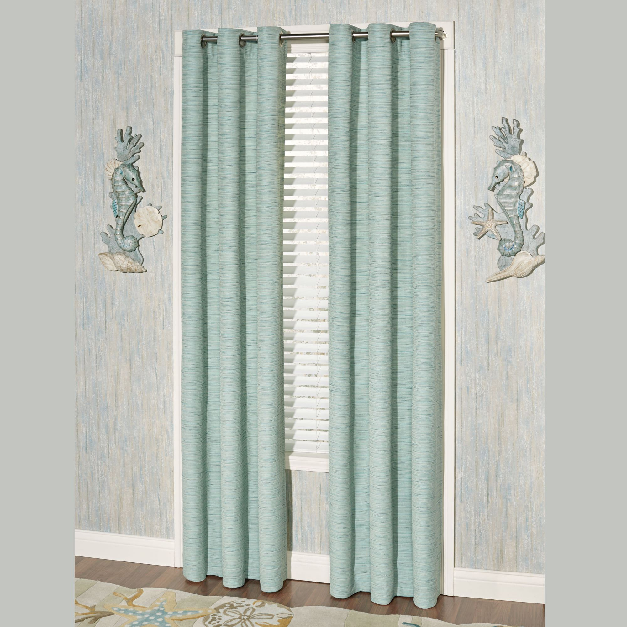Coastal Dream Grommet Window Treatment