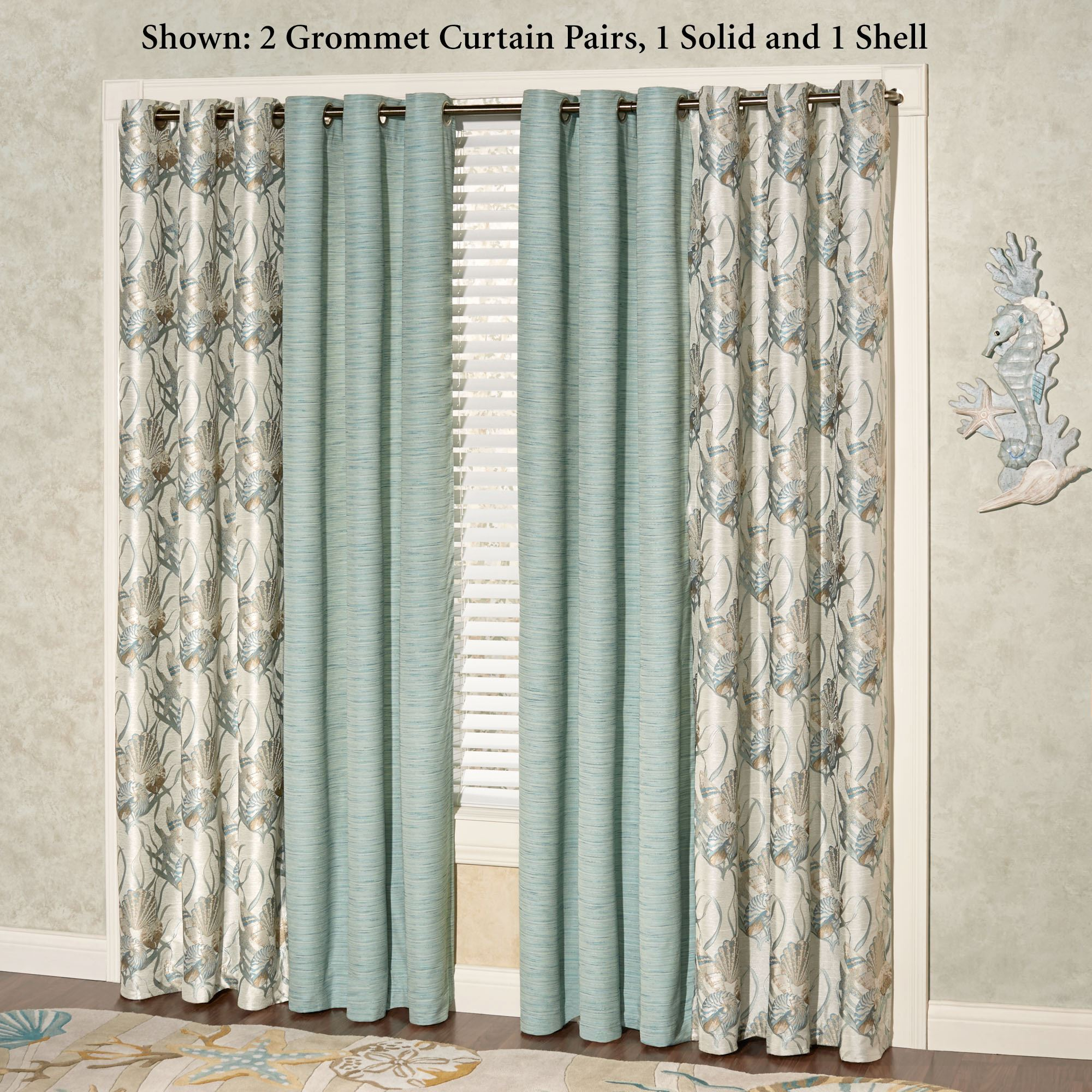 coastal drapes and curtain panel com walmart ip gardens homes damask scroll better