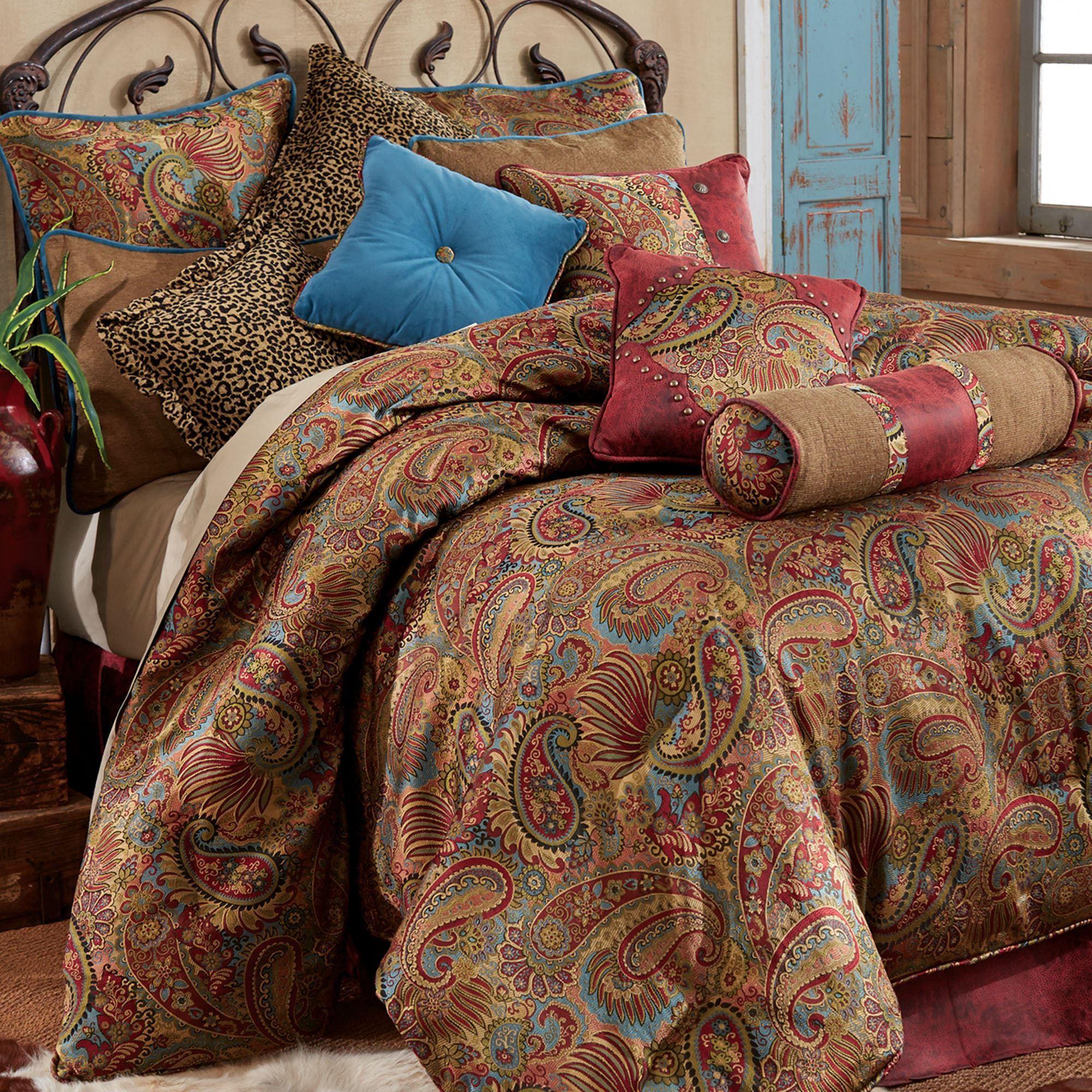 San Angelo Paisley Comforter Bedding