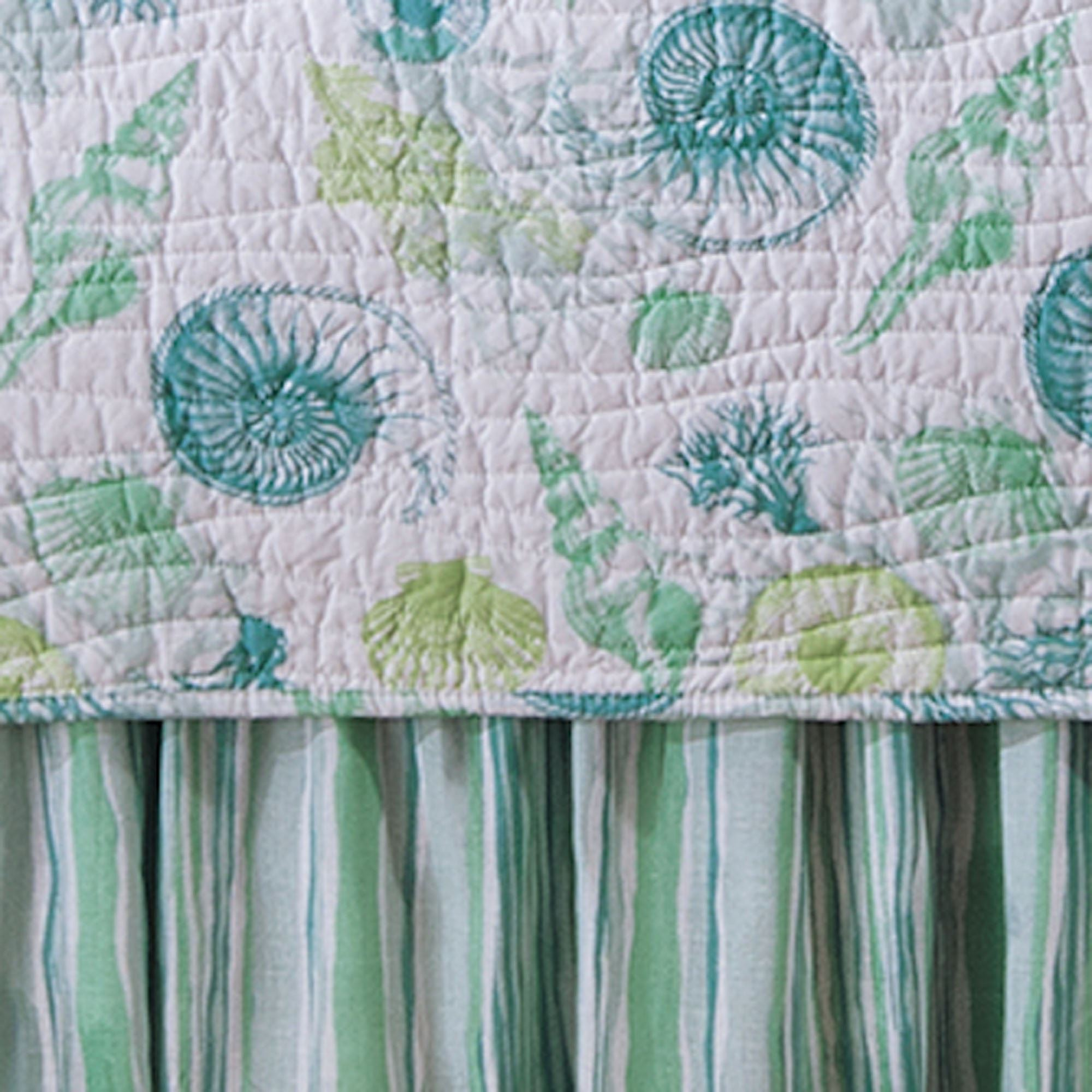 how to make a gathered bedskirt