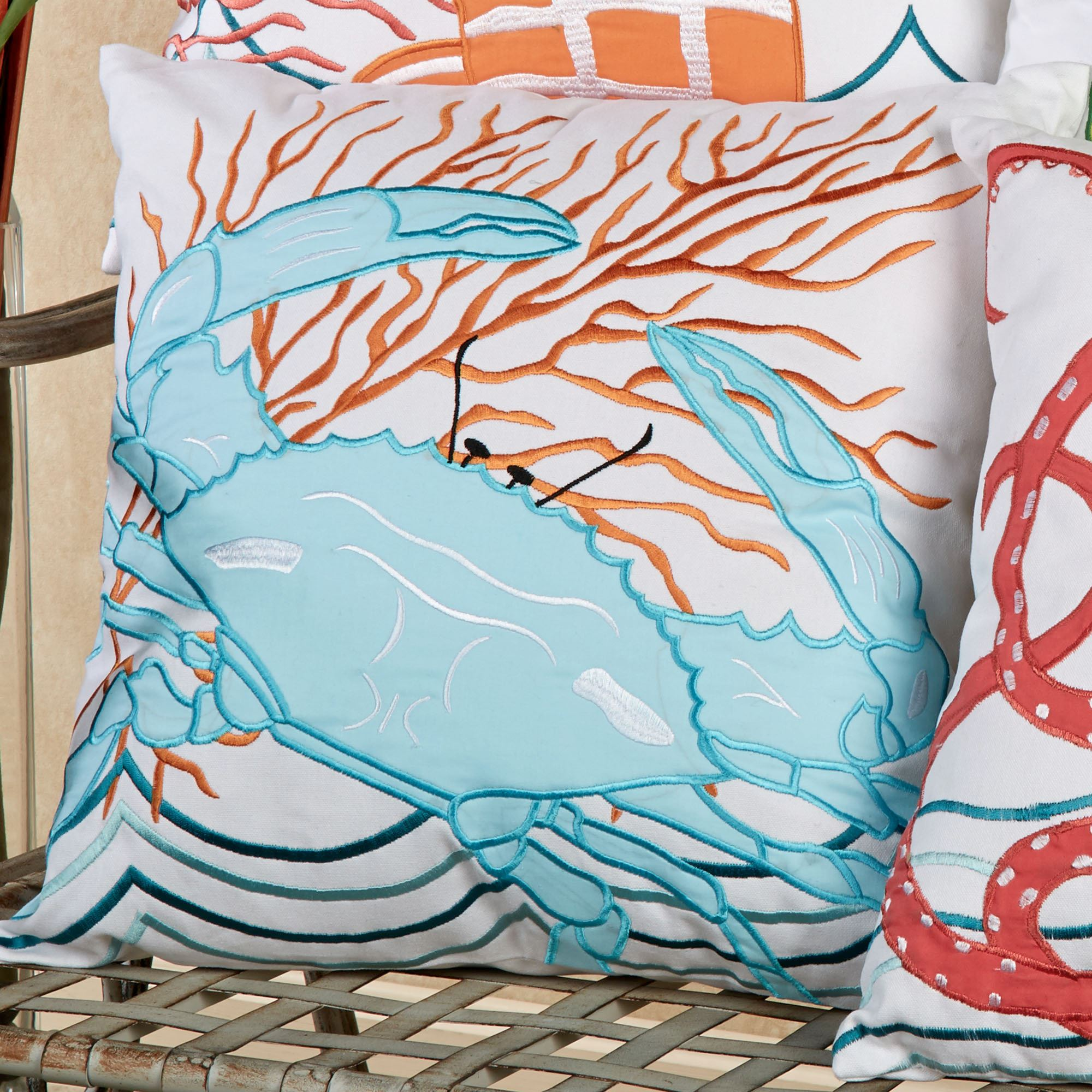 Tropic Escape Coastal Decorative Pillows