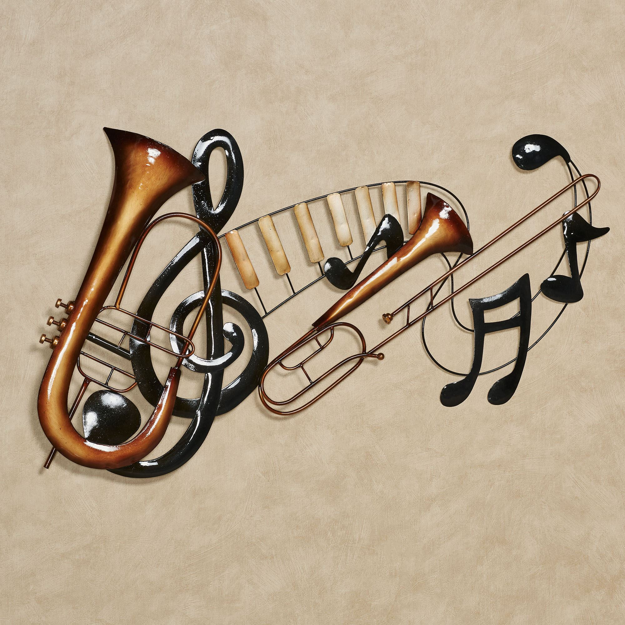 Musical Interlude Wall Art Multi Metallic. Click To Expand