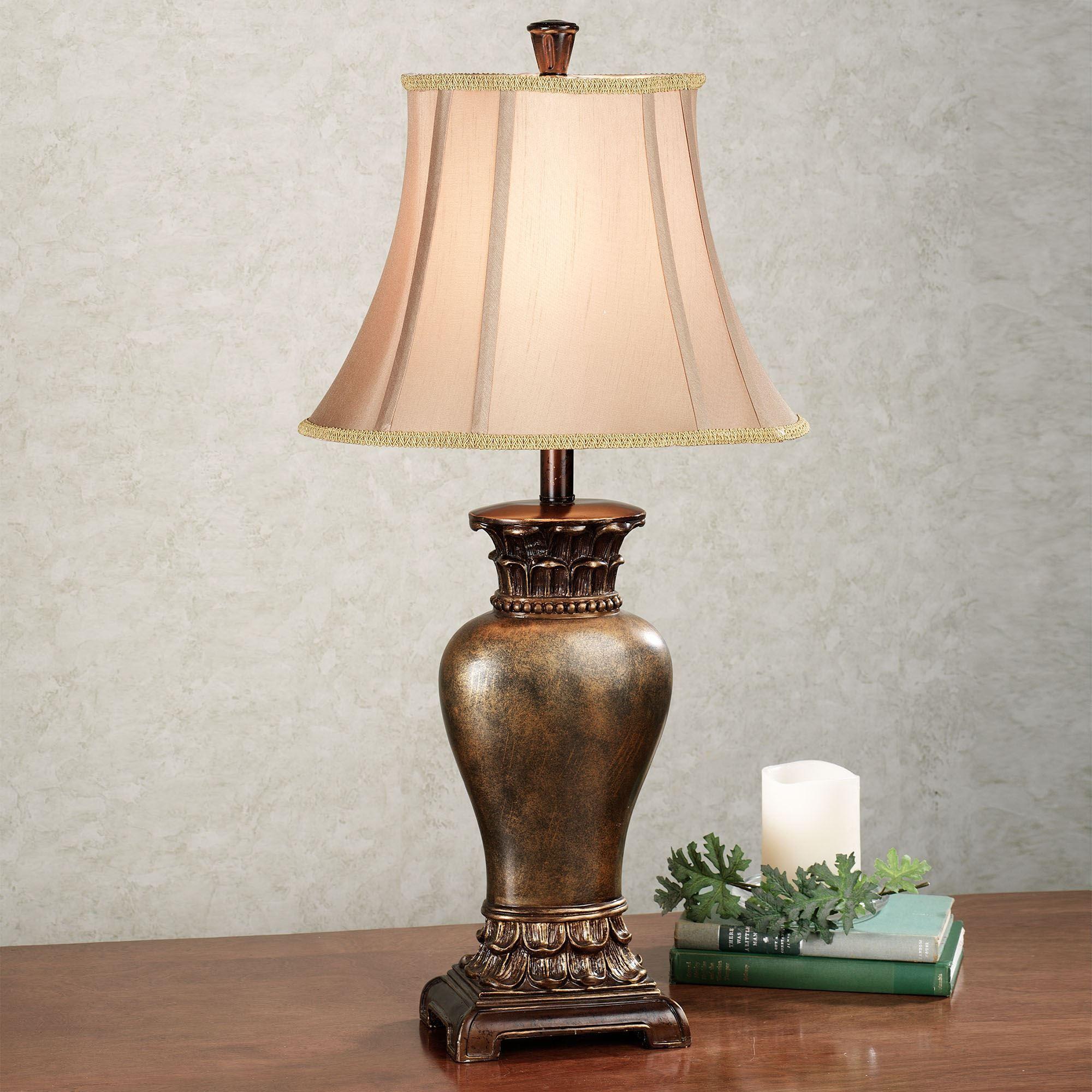 de lamp lis p table expand cordelia to textured click bronze fleur