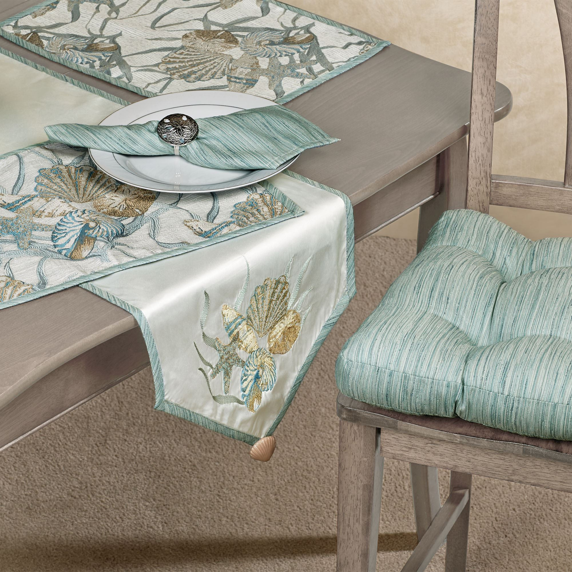 Delicieux Coastal Dream Table Runner Multi Cool 14 X 72