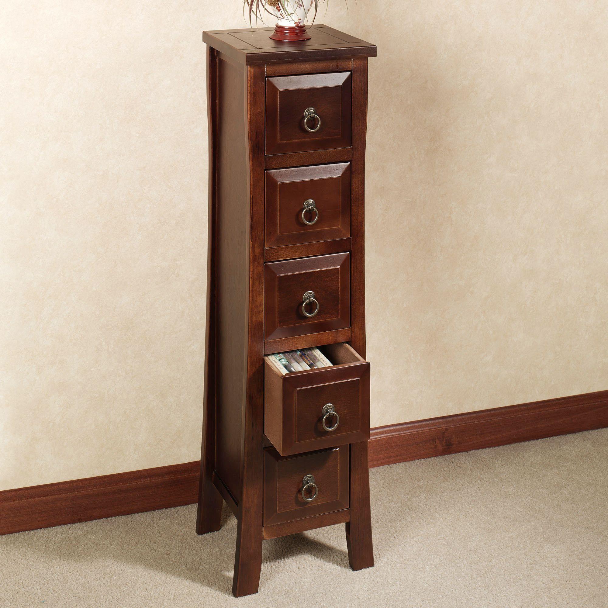 Exceptionnel Pesaro II Storage Cabinet Regal Walnut Five Drawer