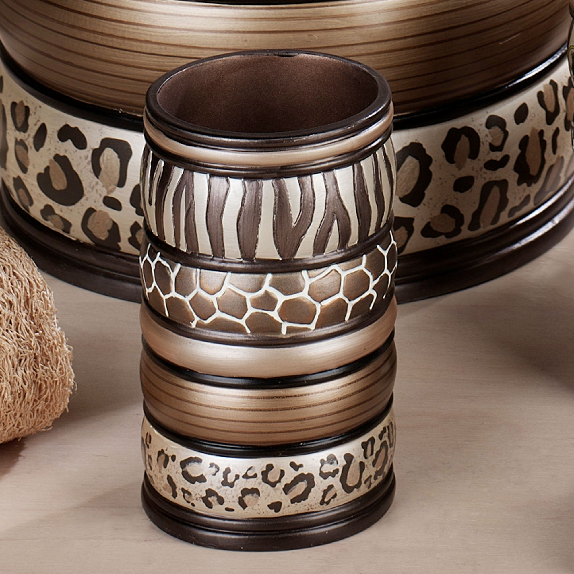 Safari Stripes Tumbler Multi Metallic