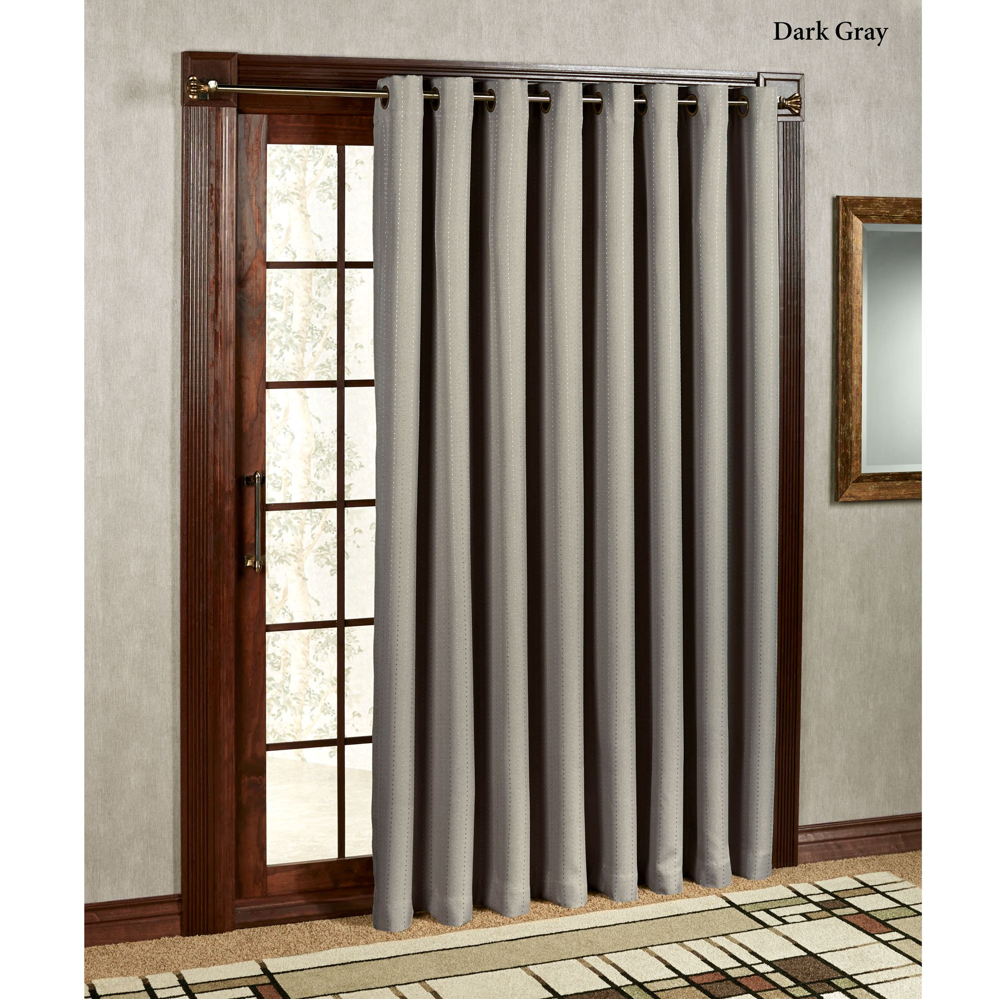Grand Pointe Room Darkening Thermal Grommet Patio Panel