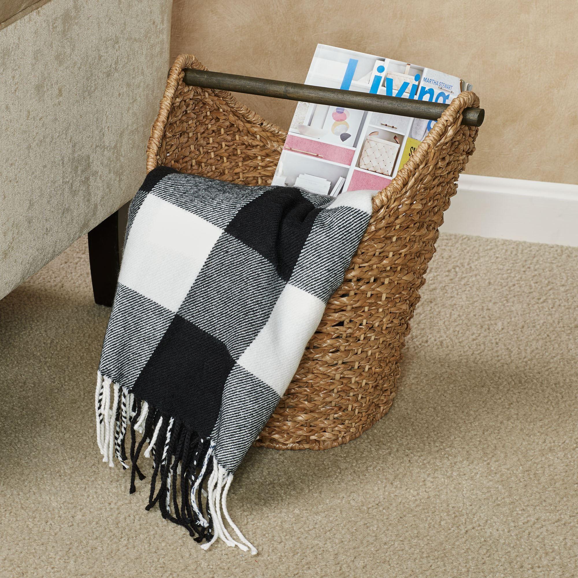 Wicker Toilet Paper Storage Basket Natural. Touch to zoom & Wicker Toilet Paper Storage Basket