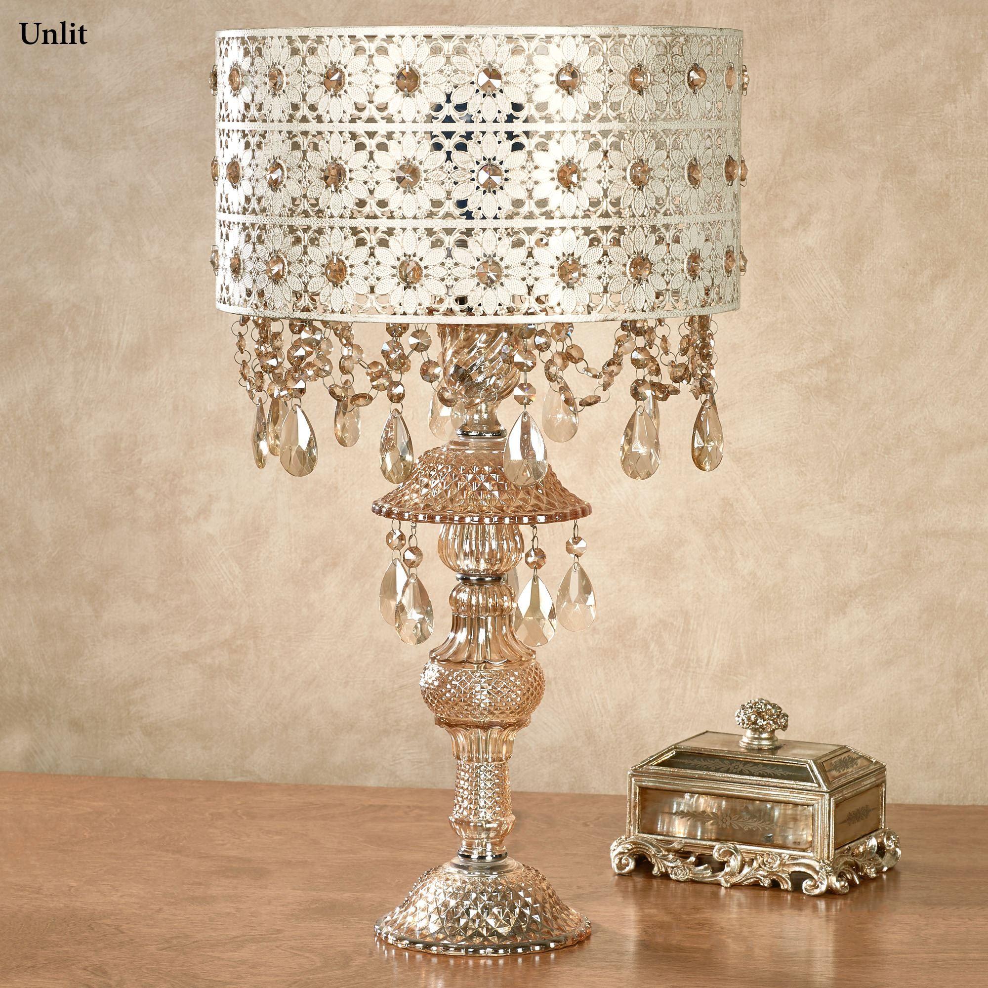 Josephine Crystal Table Lamp