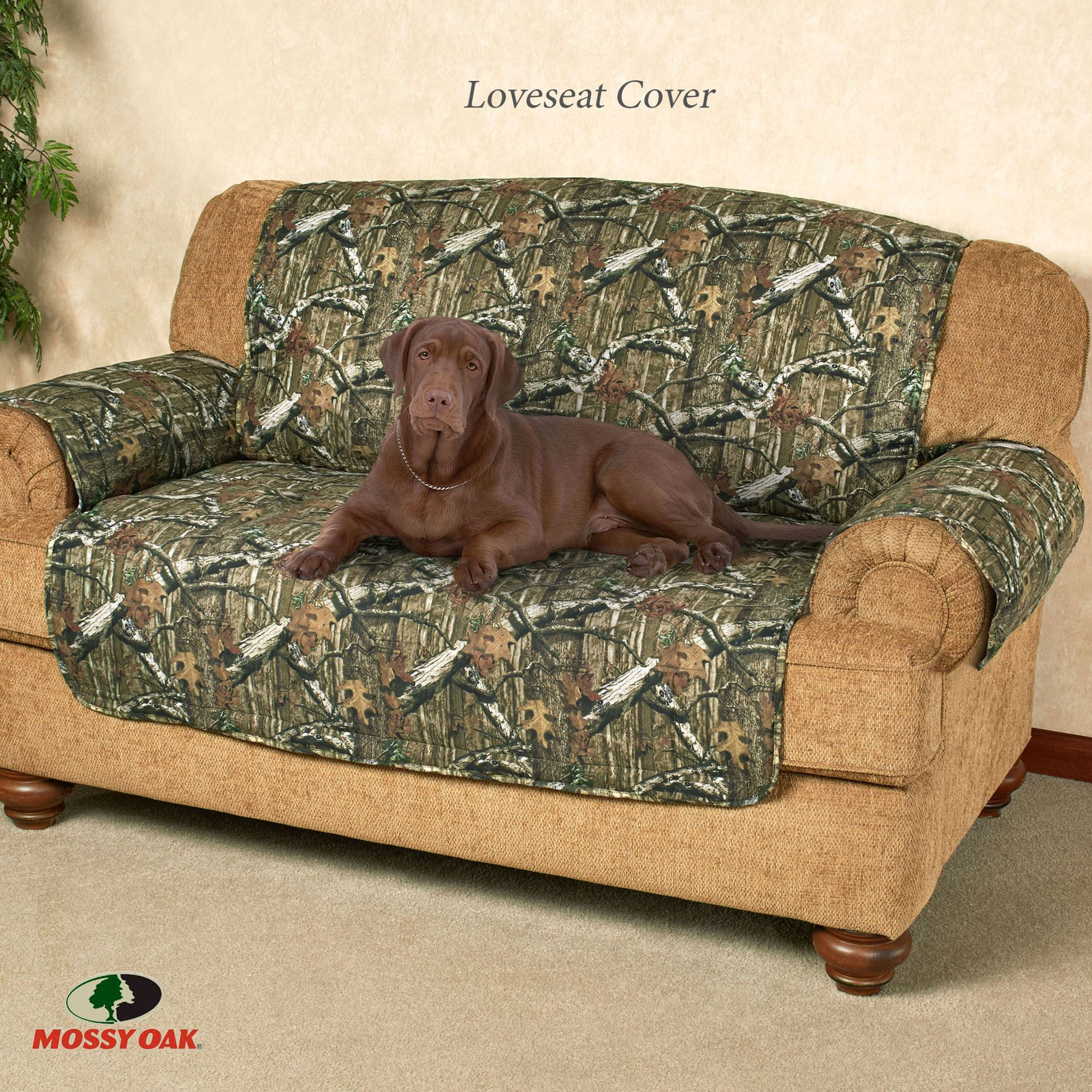 Superieur Camo Break Up Infinity Recliner Protector Sage Recliner/Wing Chair
