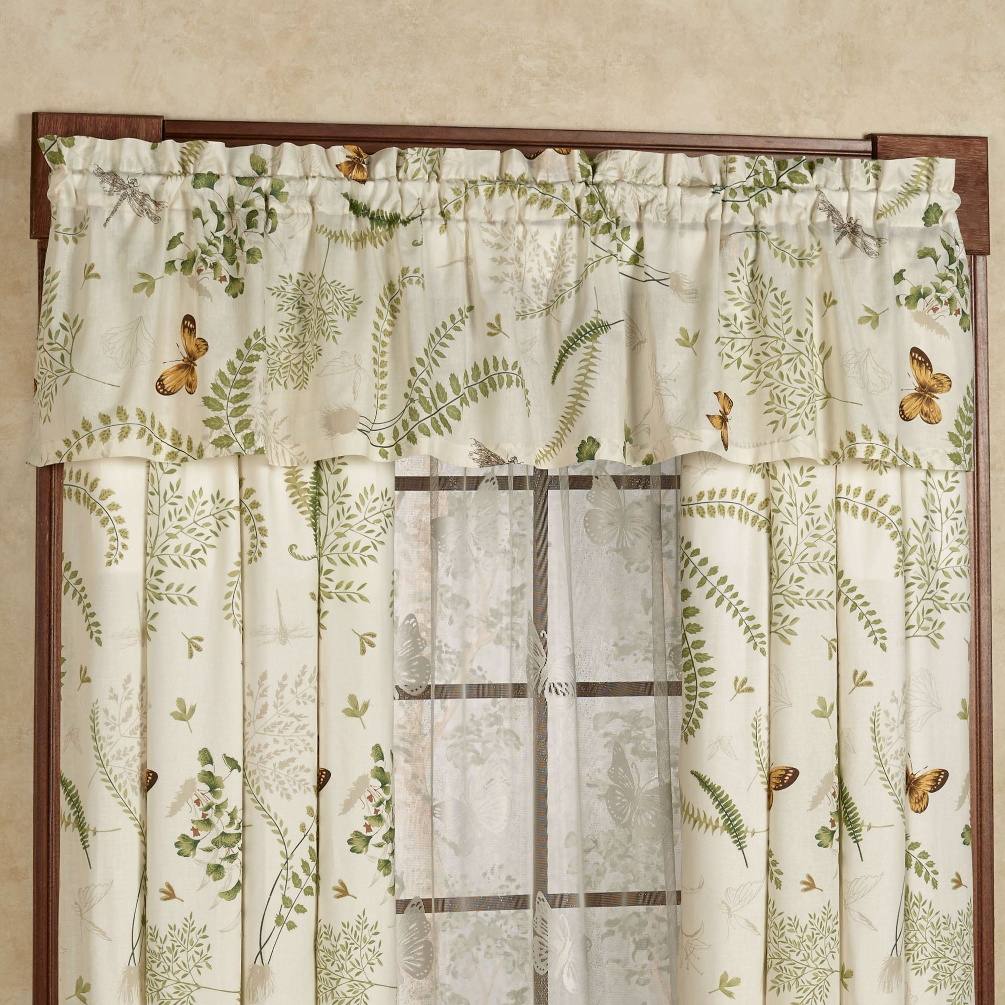 2016 Cafe Kitchen Curtains Voile Window Blind Curtain Owl: Dragonfly Kitchen Curtains