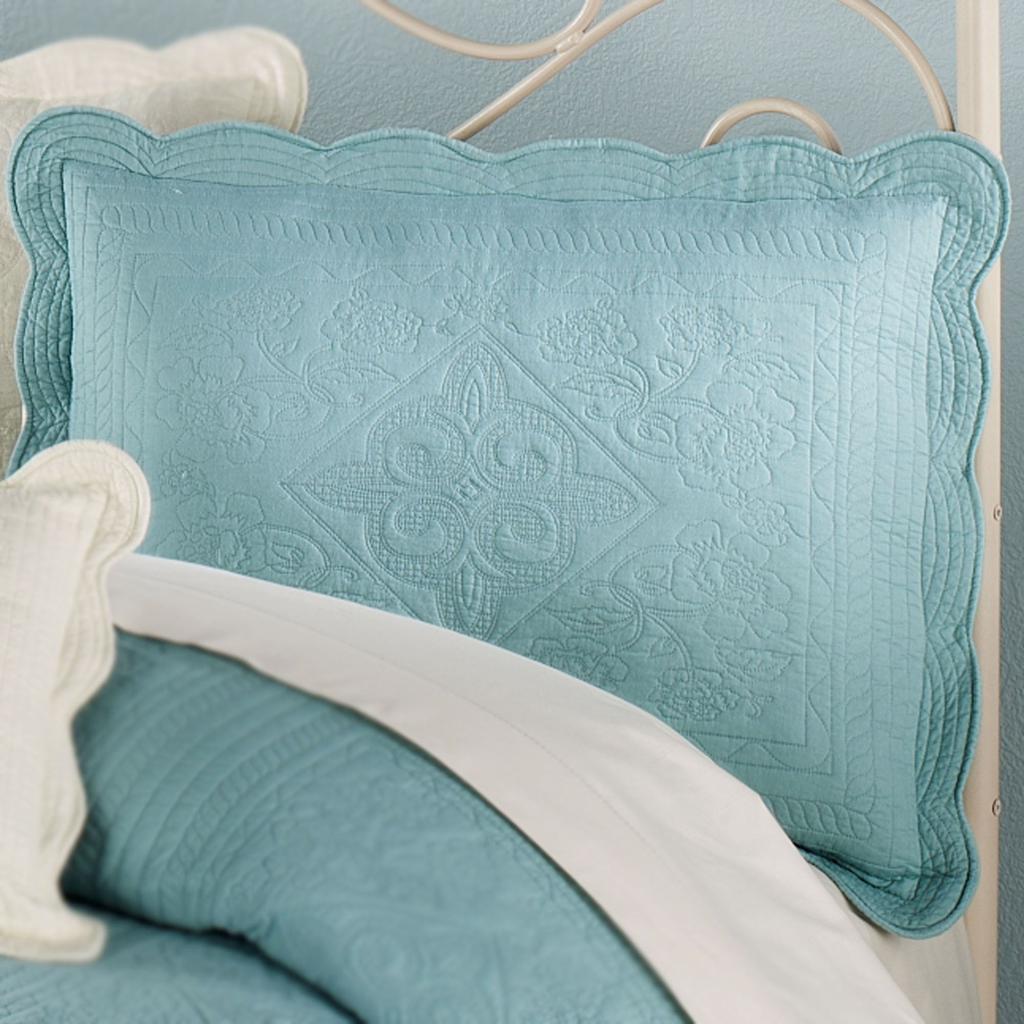Venice Squares Solid Color Quilt Bedding : teal quilt bedding - Adamdwight.com