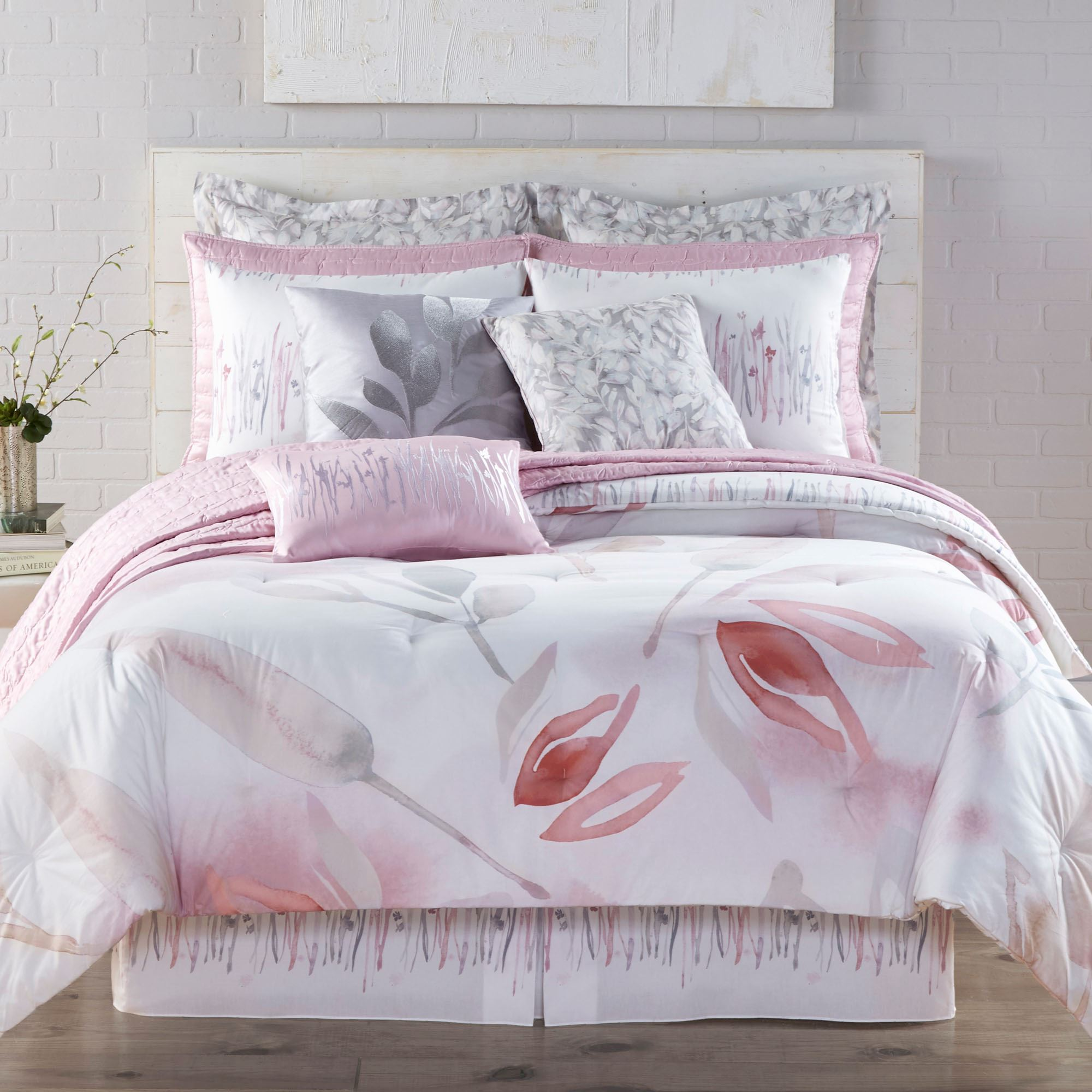 Reflections Reversible Comforter Set by Kathy Davis