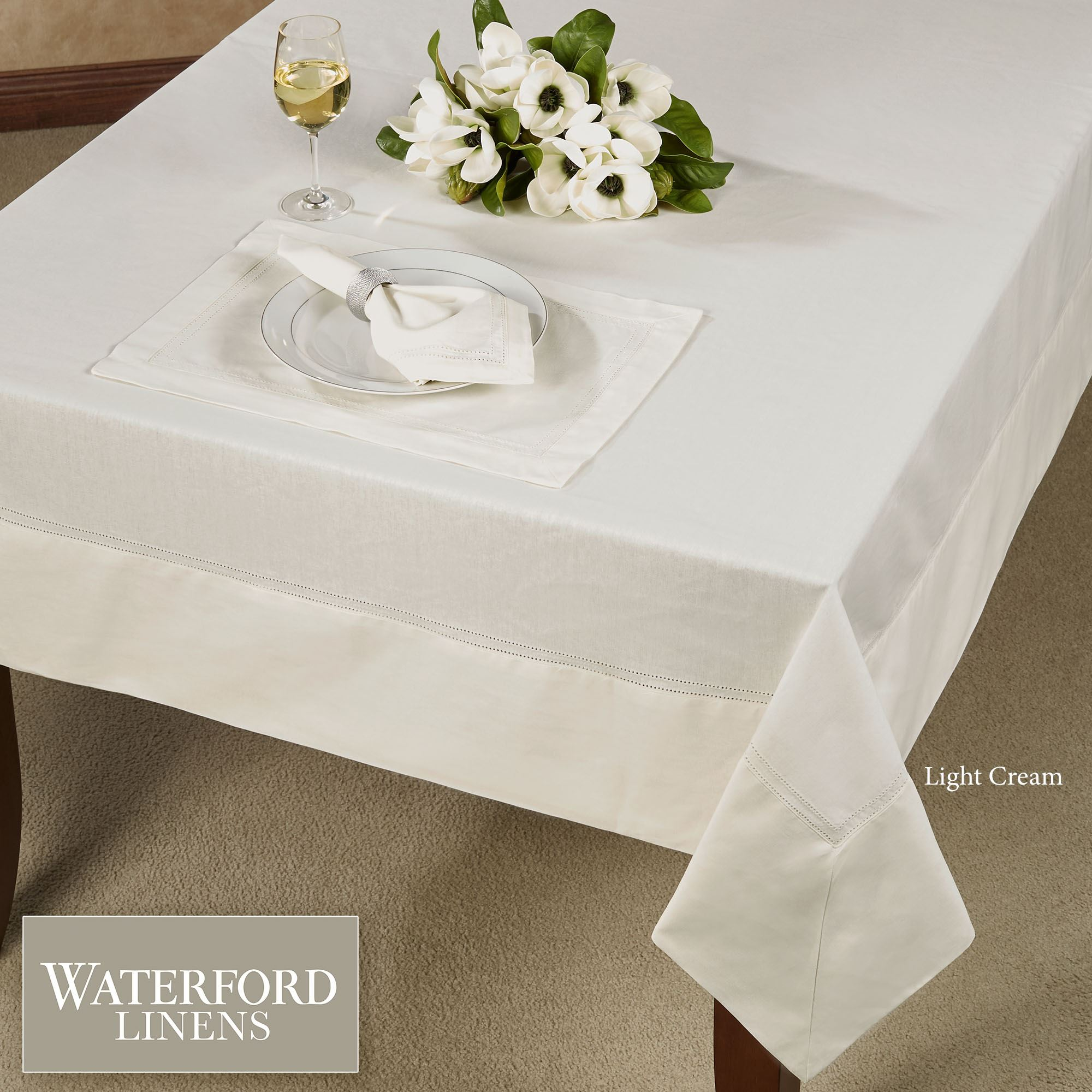 Dining Room Table Linens the pioneer woman country garden tablecloth 52 x 70 in walmartcom Corra Table Linens From Waterford Linens
