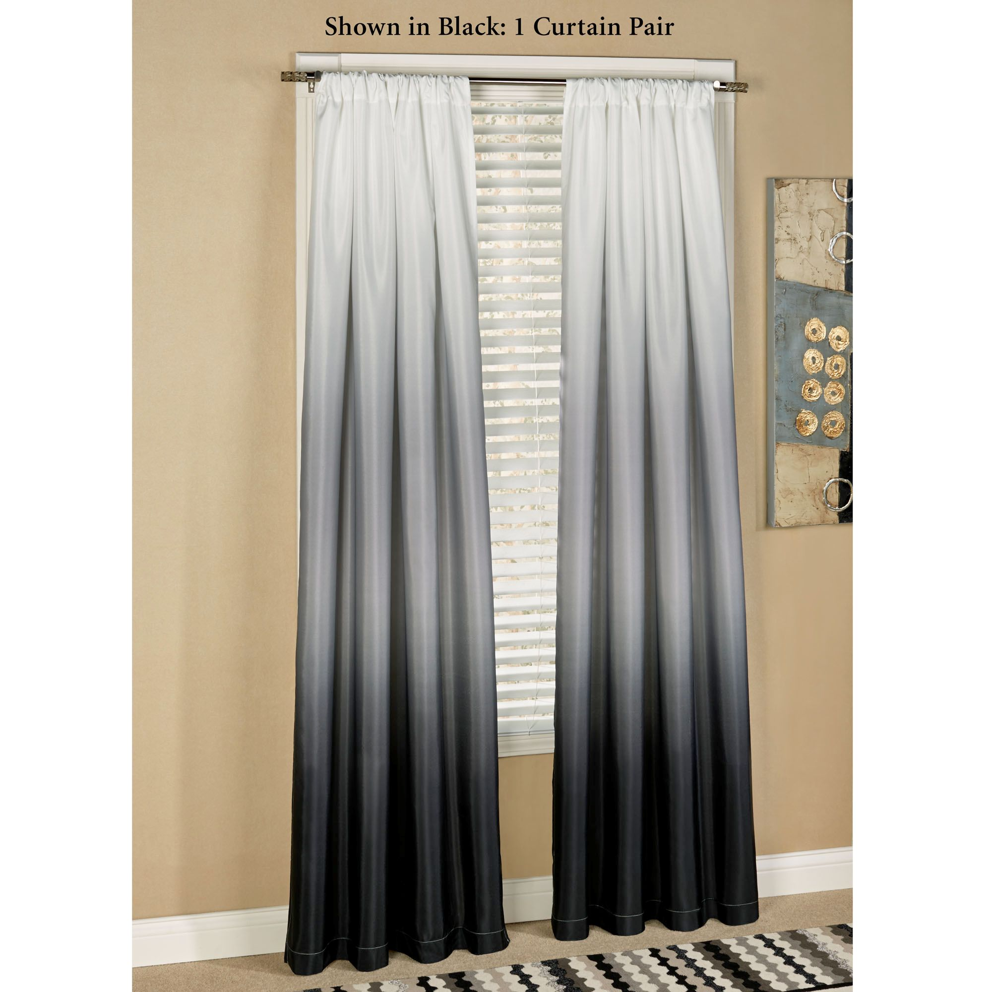 and kohls curtains short drapes grommet cool charming windows black blackout target velvet walmart decoration white for color block window