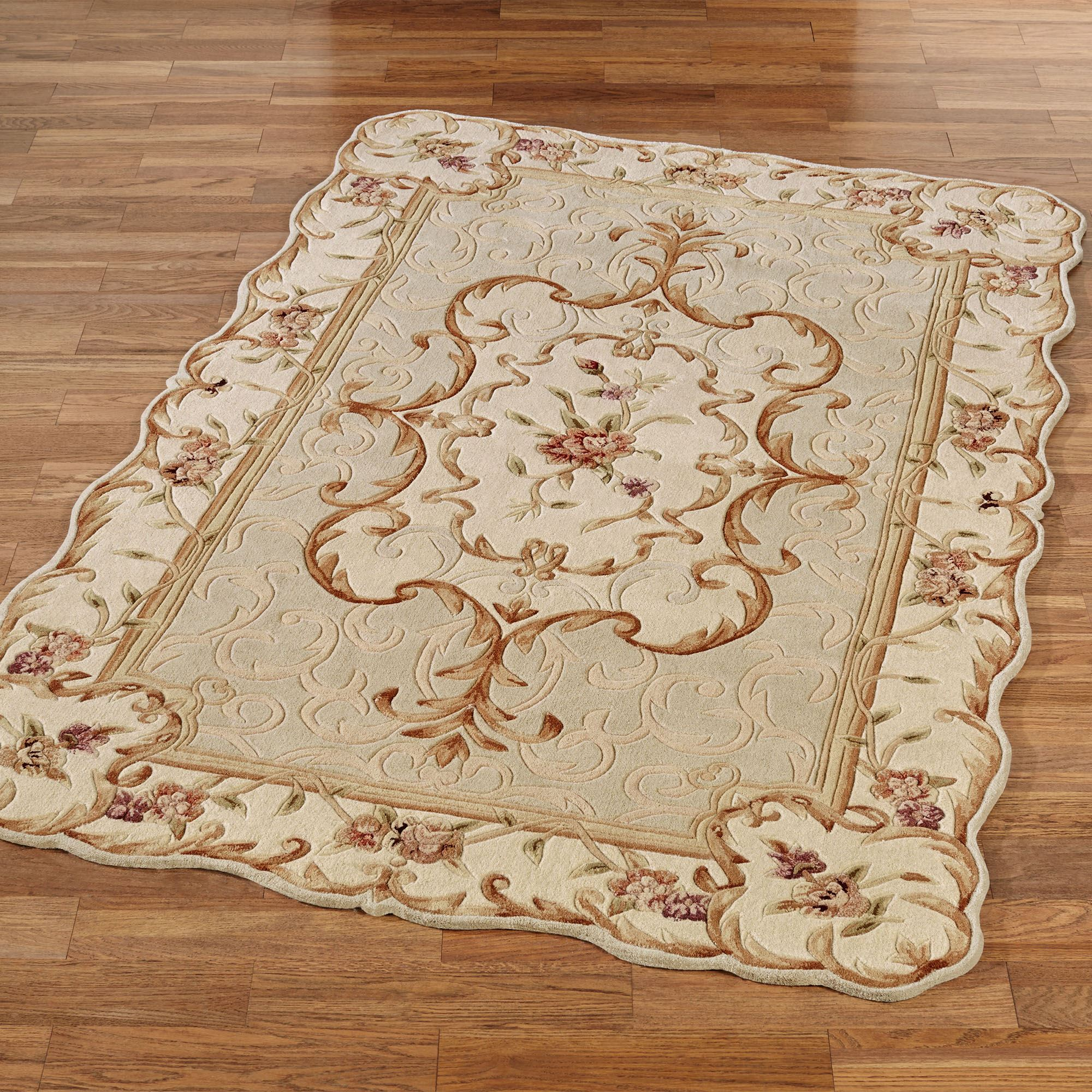 french area handmade bedroom rugs home room product hallway quot antique carpet aubusson square wool decor weave flat living rug pastel neutral wa