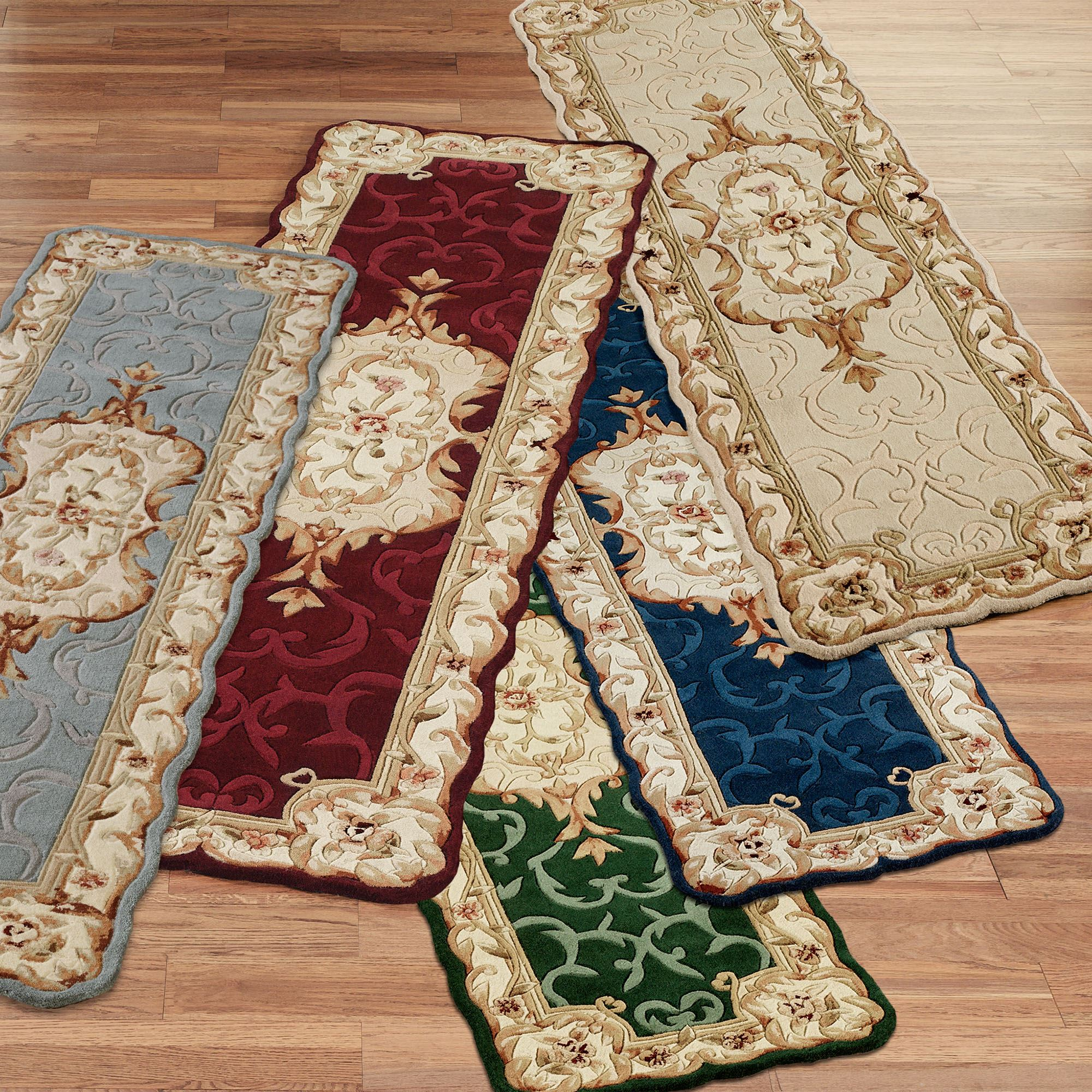 Evaline Wool Aubusson Rug Runners