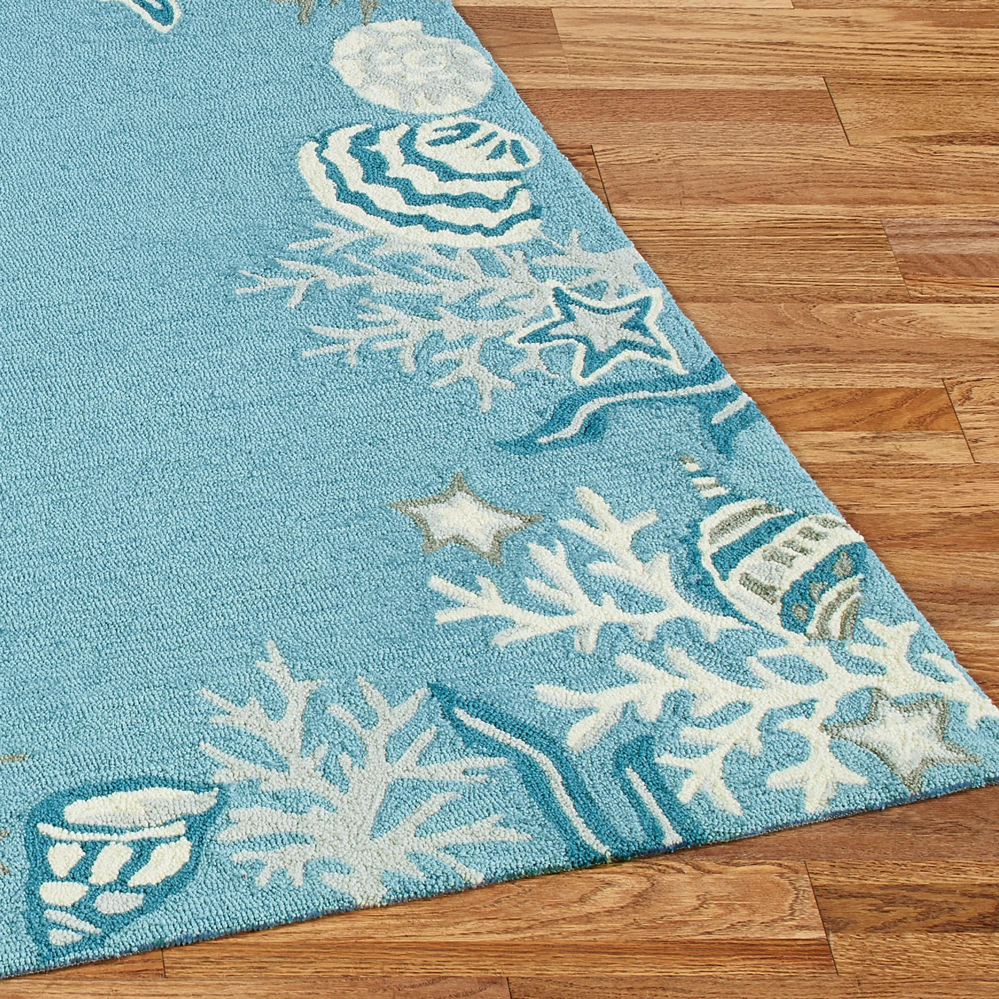 rugs soft floor design mat shaggy house itm hand home decor noble pile pebble tufted blue rug