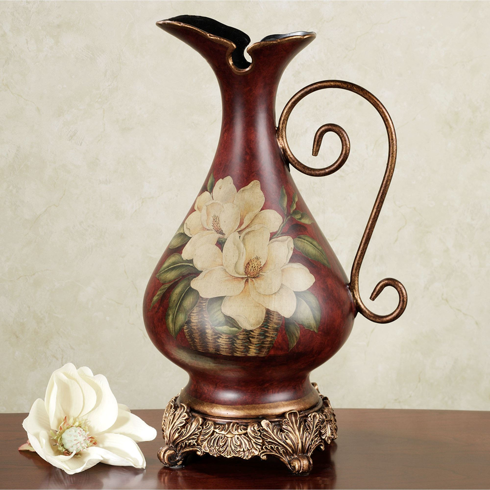 Table vases floor vases decorative jars touch of class magnolia pitcher vase reviewsmspy