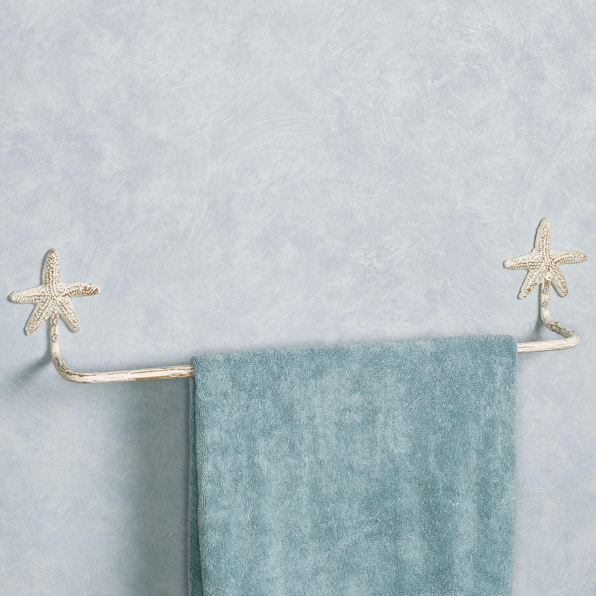 Starfish Coastal Bath Wall Accents