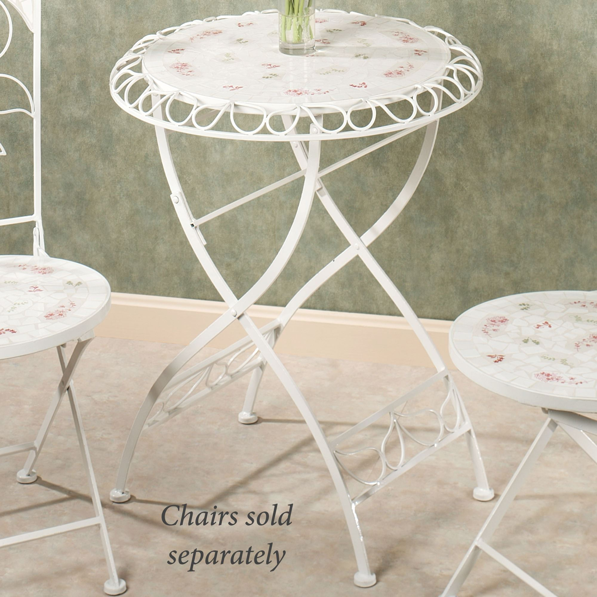 Aails Garden Bistro Table Soft White