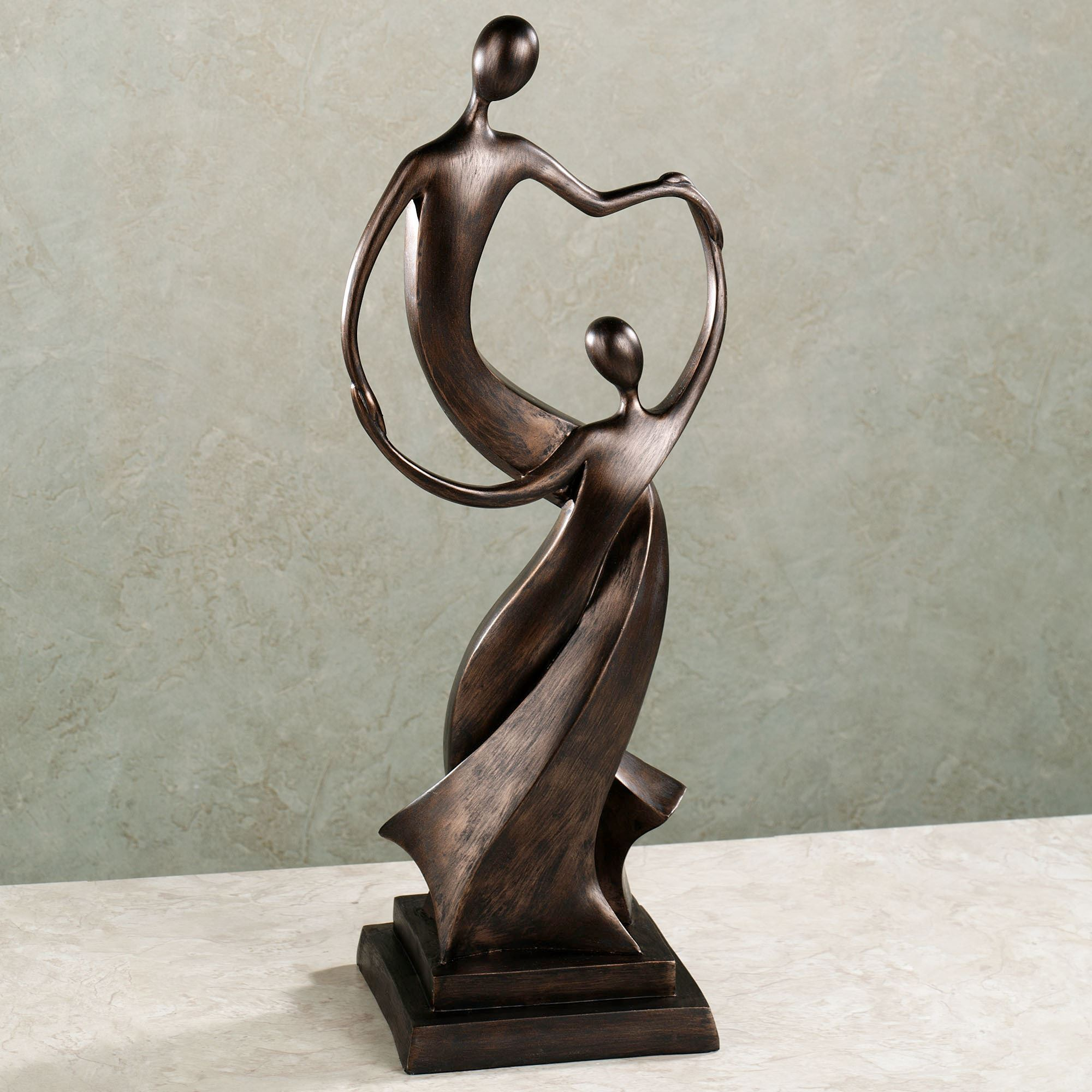 Bountiful Love Table Sculpture Bronze. Click To Expand