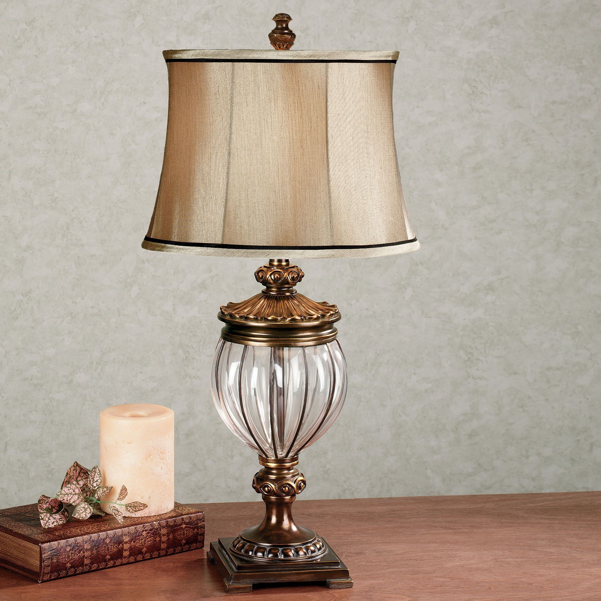 Reen table lamp with cfl bulb for Images of table lamps