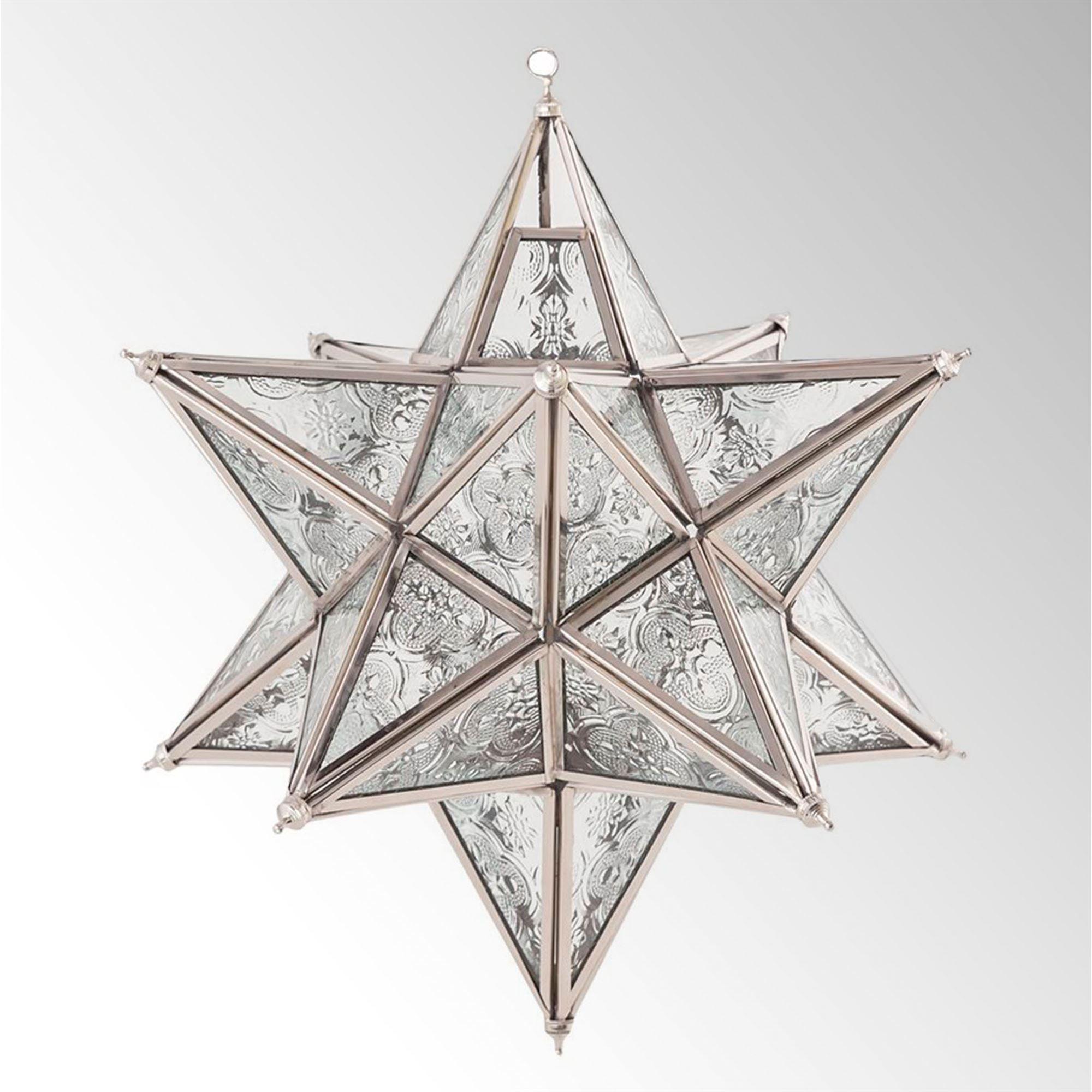 Starlight Moravian Star Hanging Tealight Candleholder Lantern Pendant