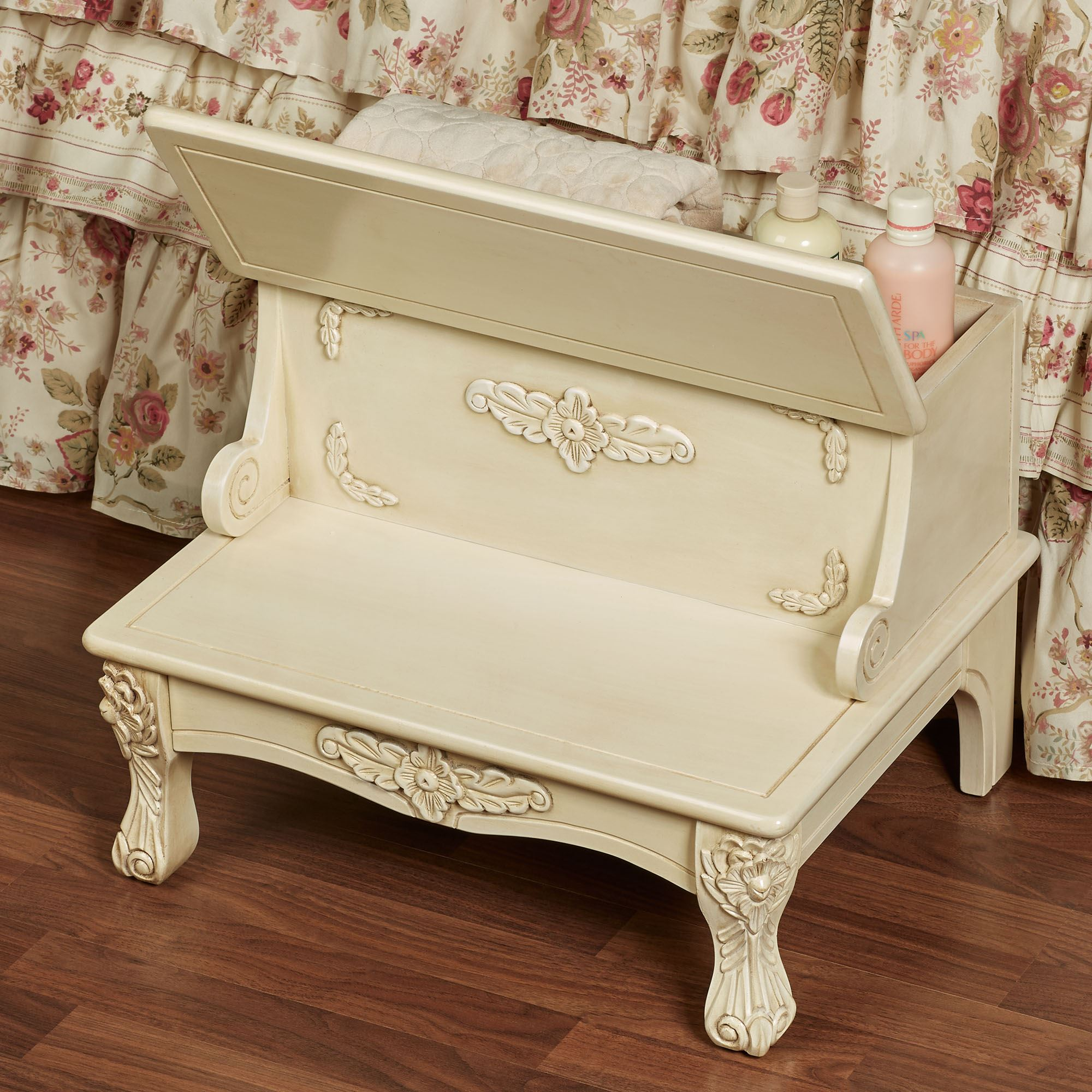 Fabulous Viviana Wooden Bed Steps With Storage Ibusinesslaw Wood Chair Design Ideas Ibusinesslaworg