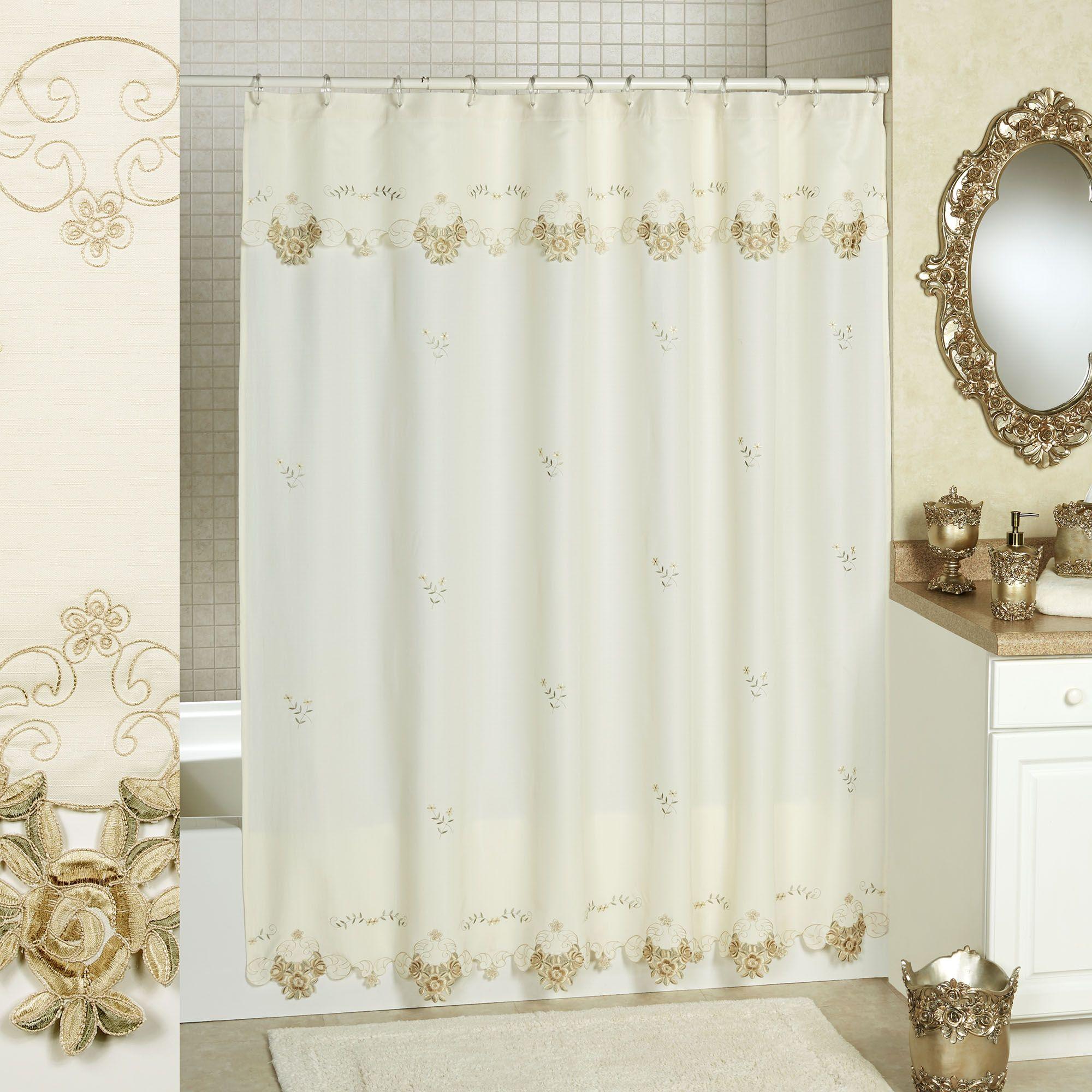 Bella Rose Shower Curtain