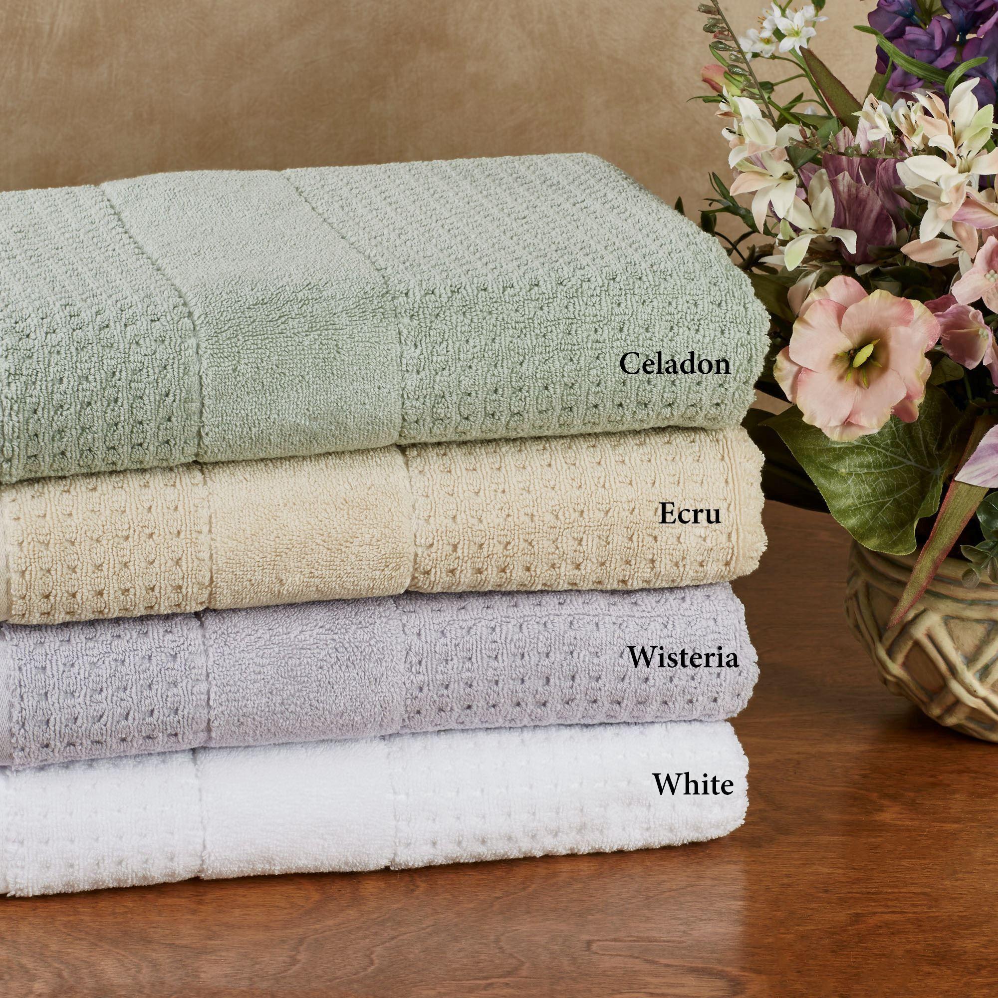 650 Gsm Hammam Waffle Weave Turkish Cotton Bath Towels