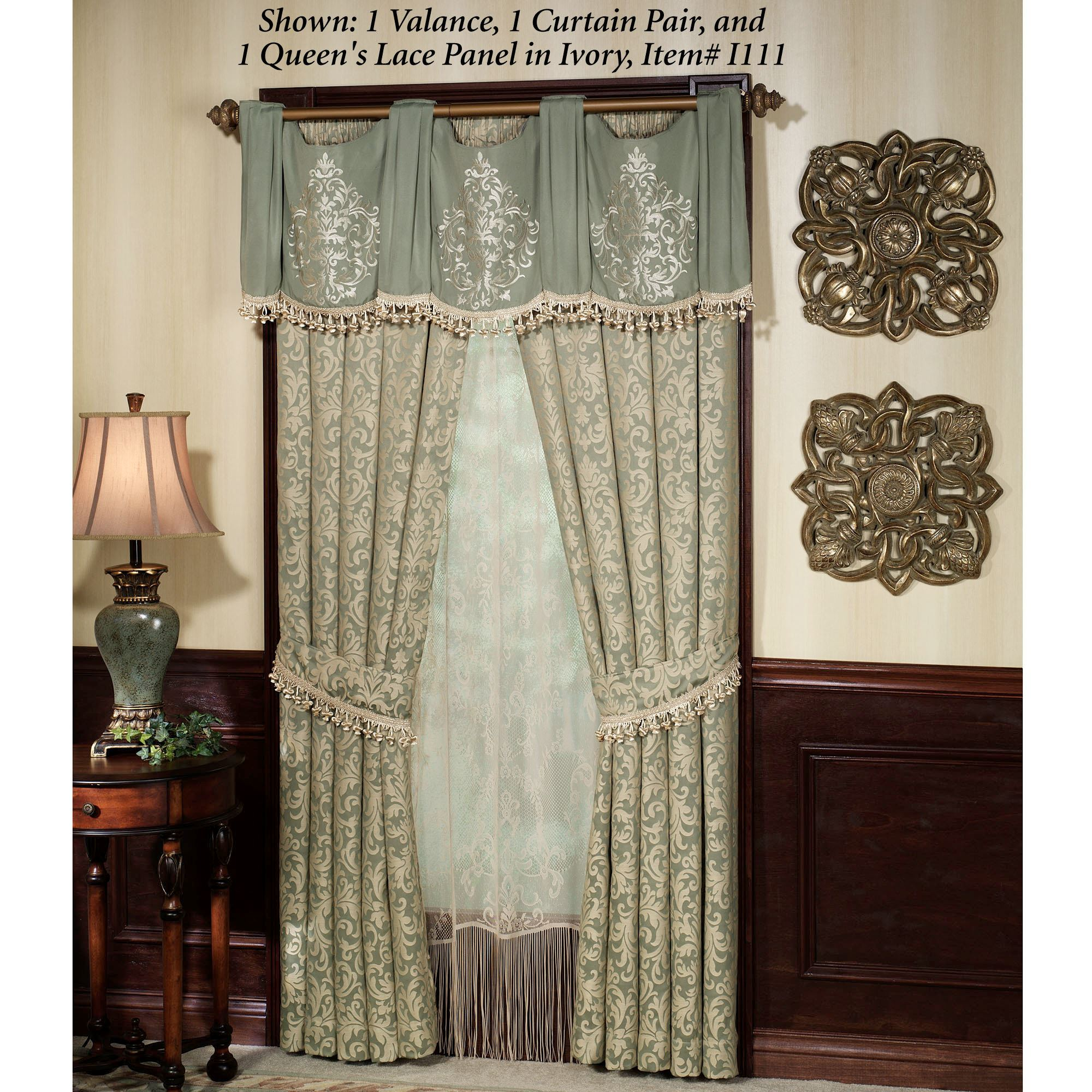 waterfall valance pattern aberdeen waterfall valance and window treatments 7768
