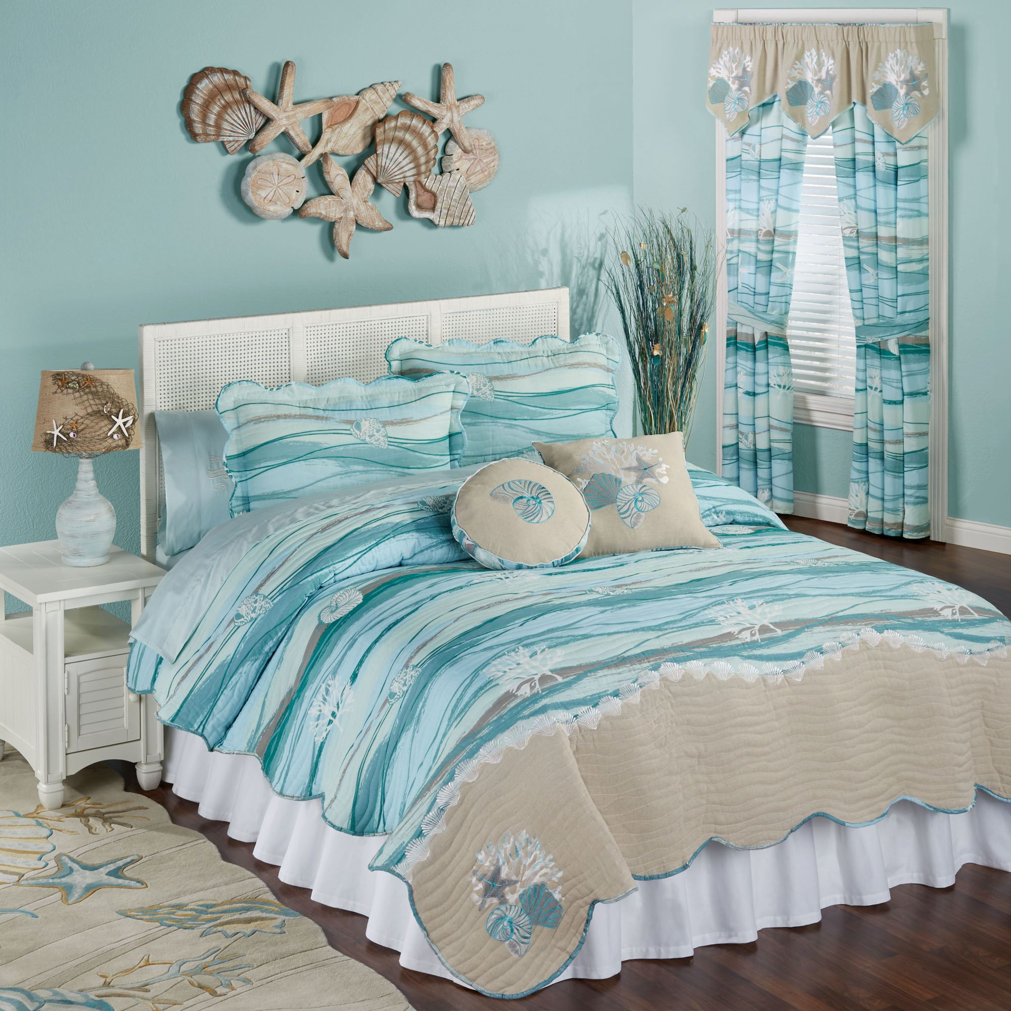 canopy bedroom stitch crane box products and light sham inspiration quilt bedding diamond blue the decor