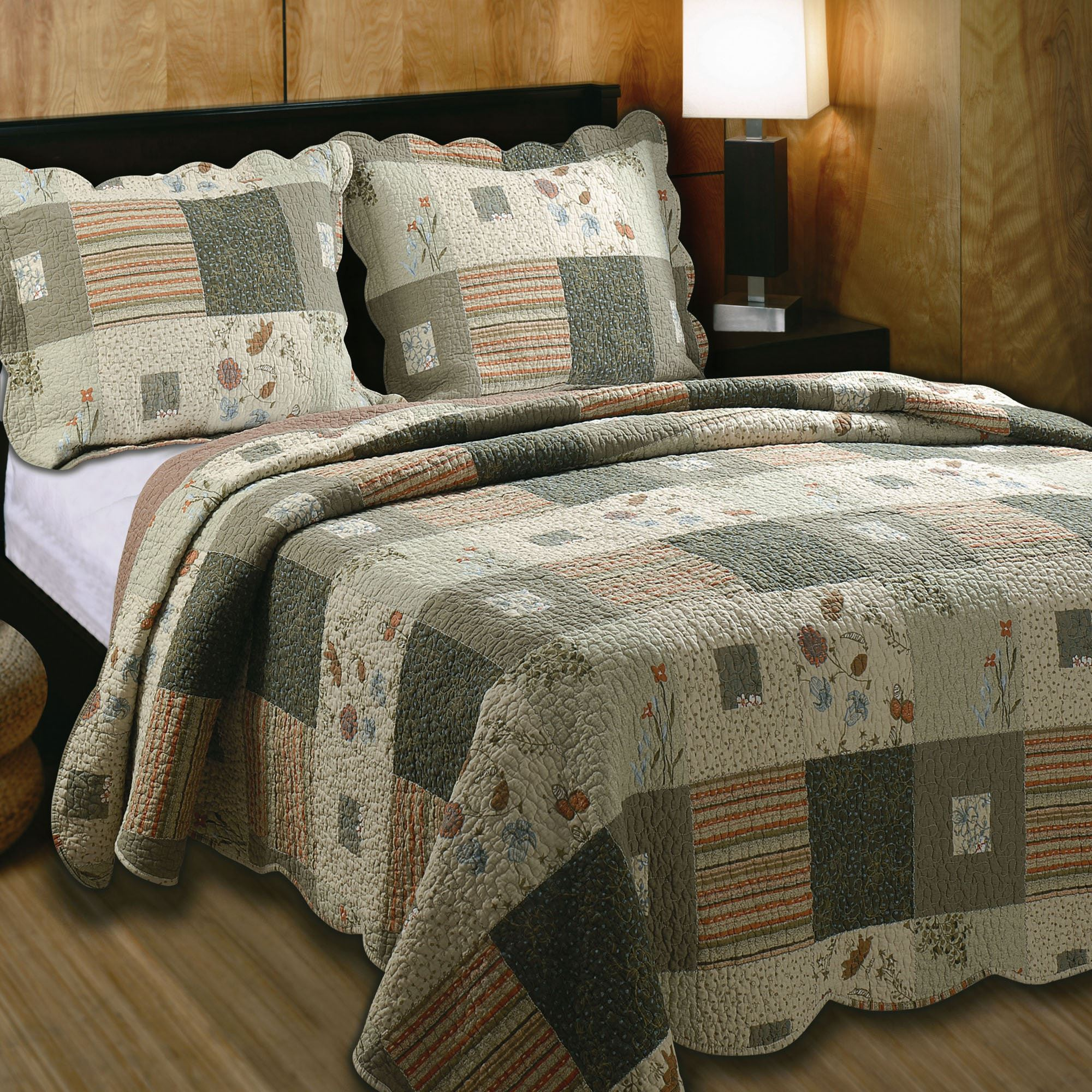 Sedona Quilt Set Multi Warm. Click To Expand