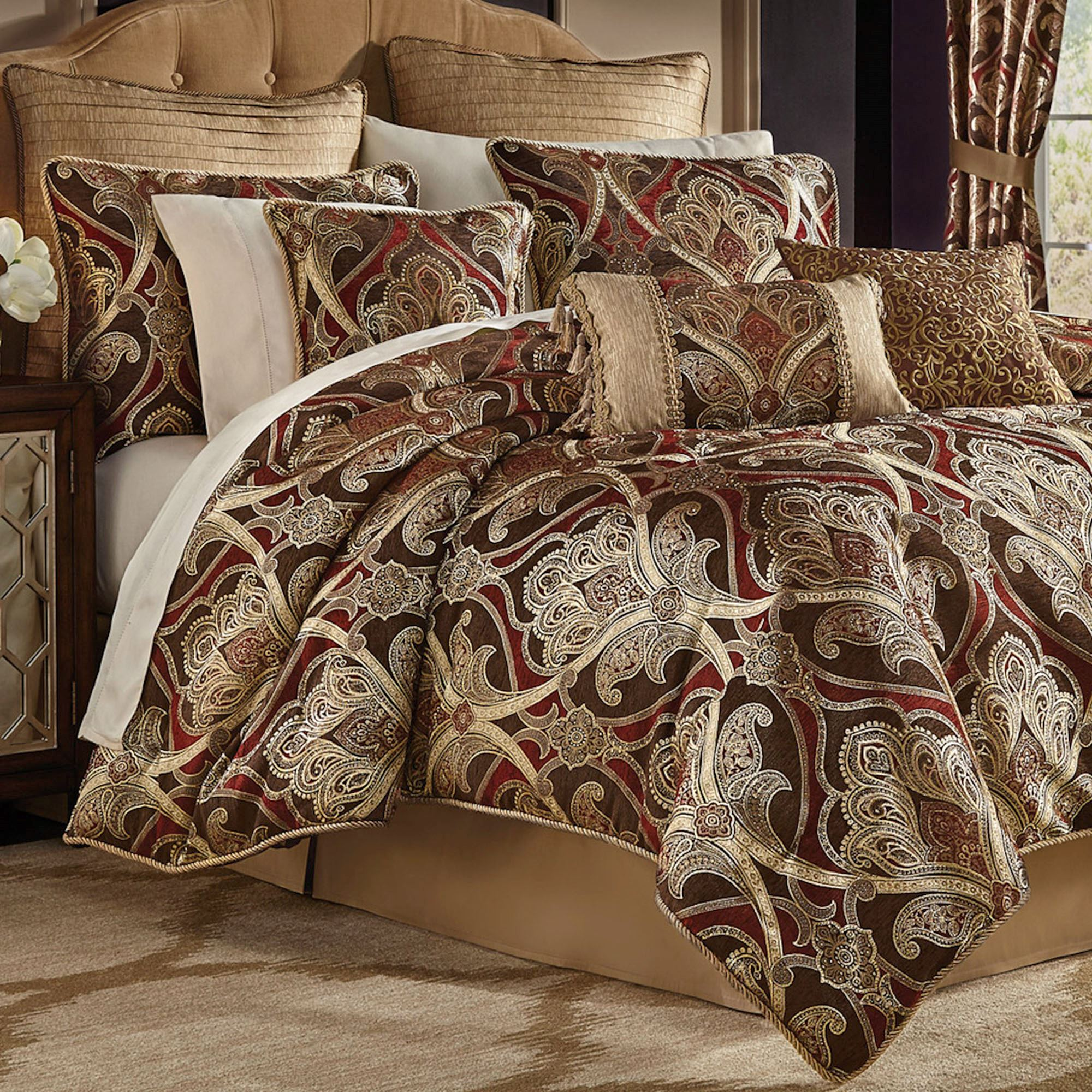 home textiles paisley place sets and bedding chic park comforter warm