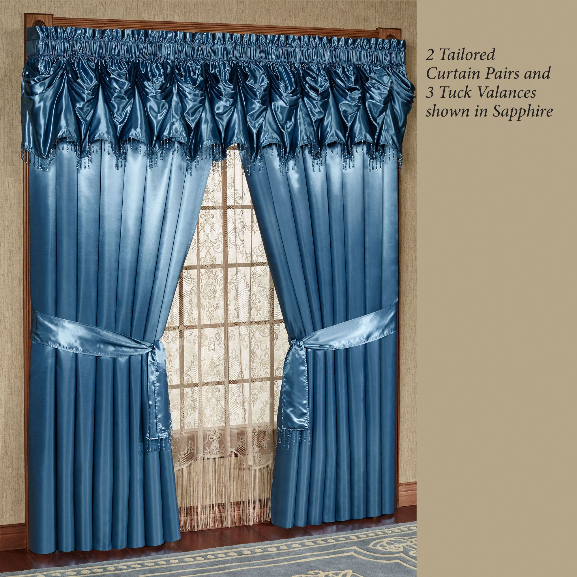 Blue Window Treatments Affordable Blue Window Coverings